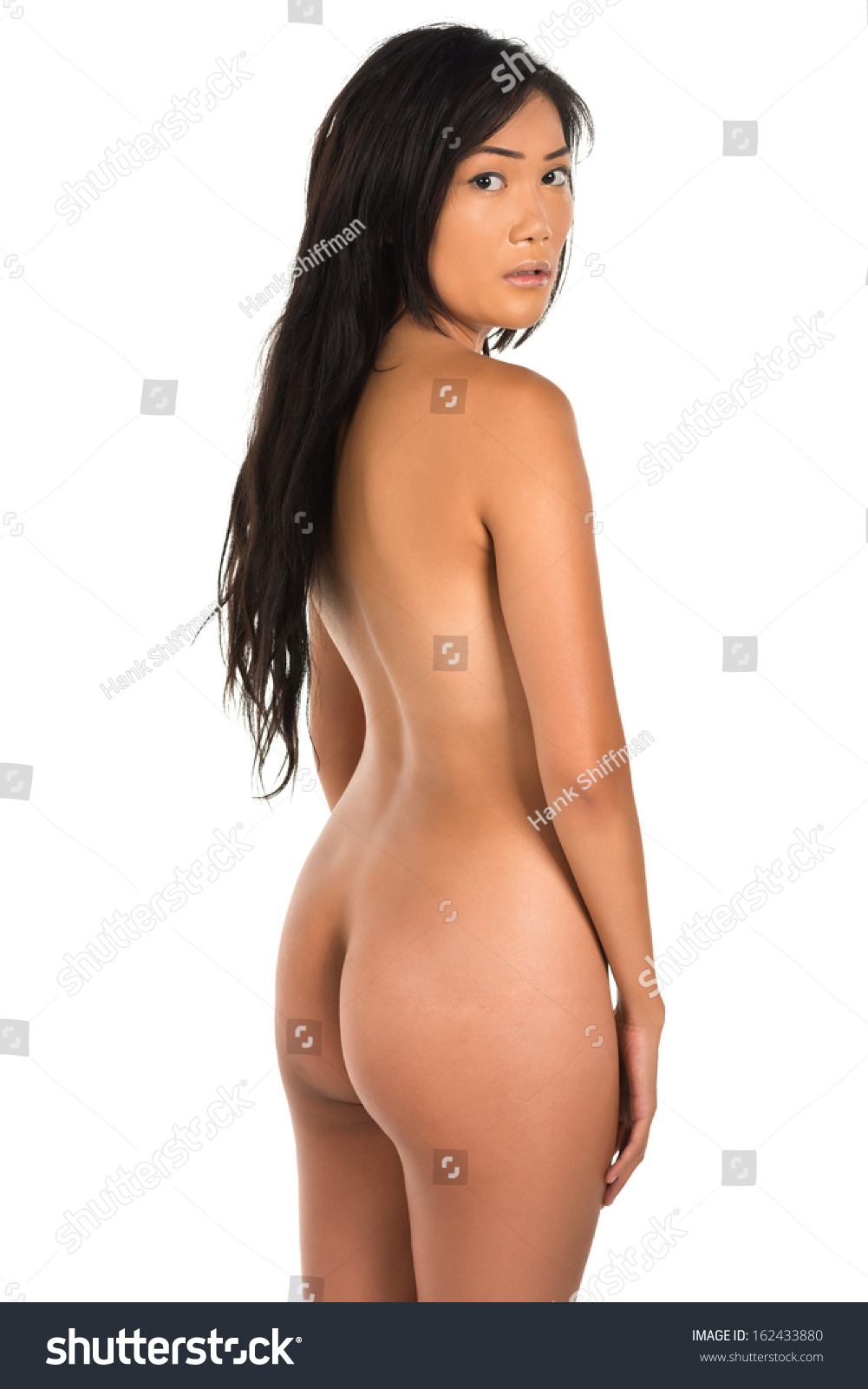 Pretty Young Filipina Nude On White Stock Photo 162433880 -7468