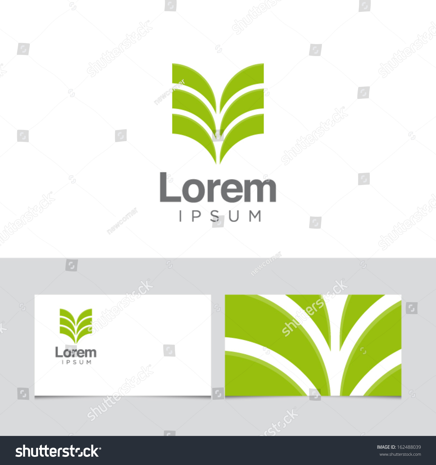 icon design element business card template 162488039 shutterstock. Black Bedroom Furniture Sets. Home Design Ideas