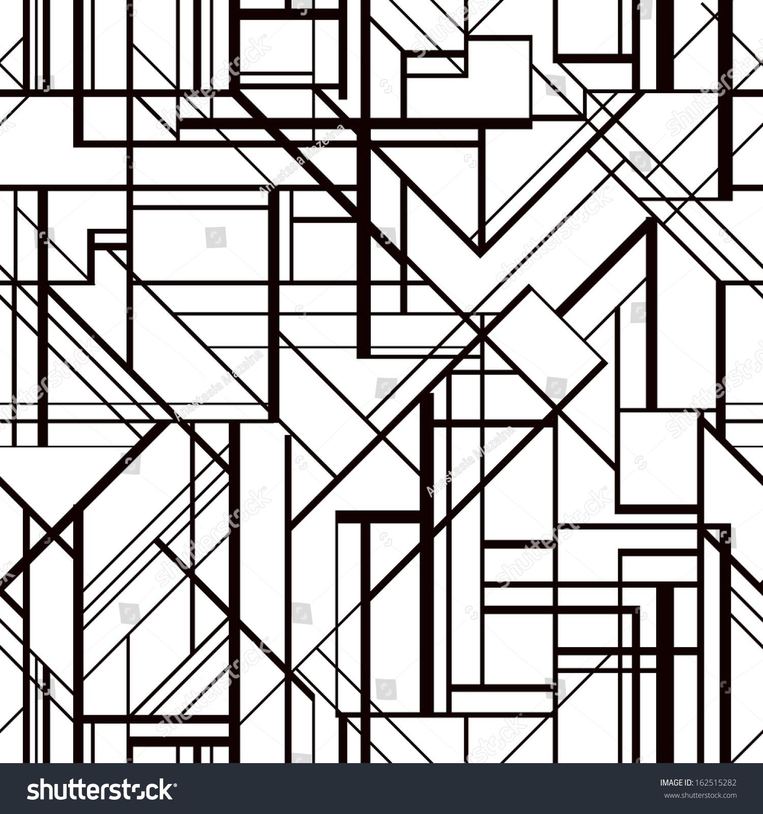 Art Deco Geometric Pattern Stock Photography - Image: 36417892