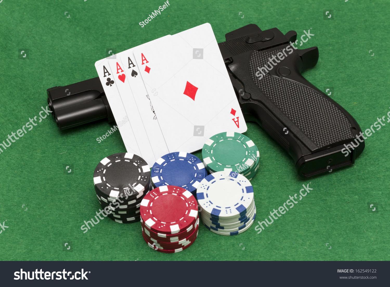 Playing Illegal Gambling Stock Photo Edit Now 162549122