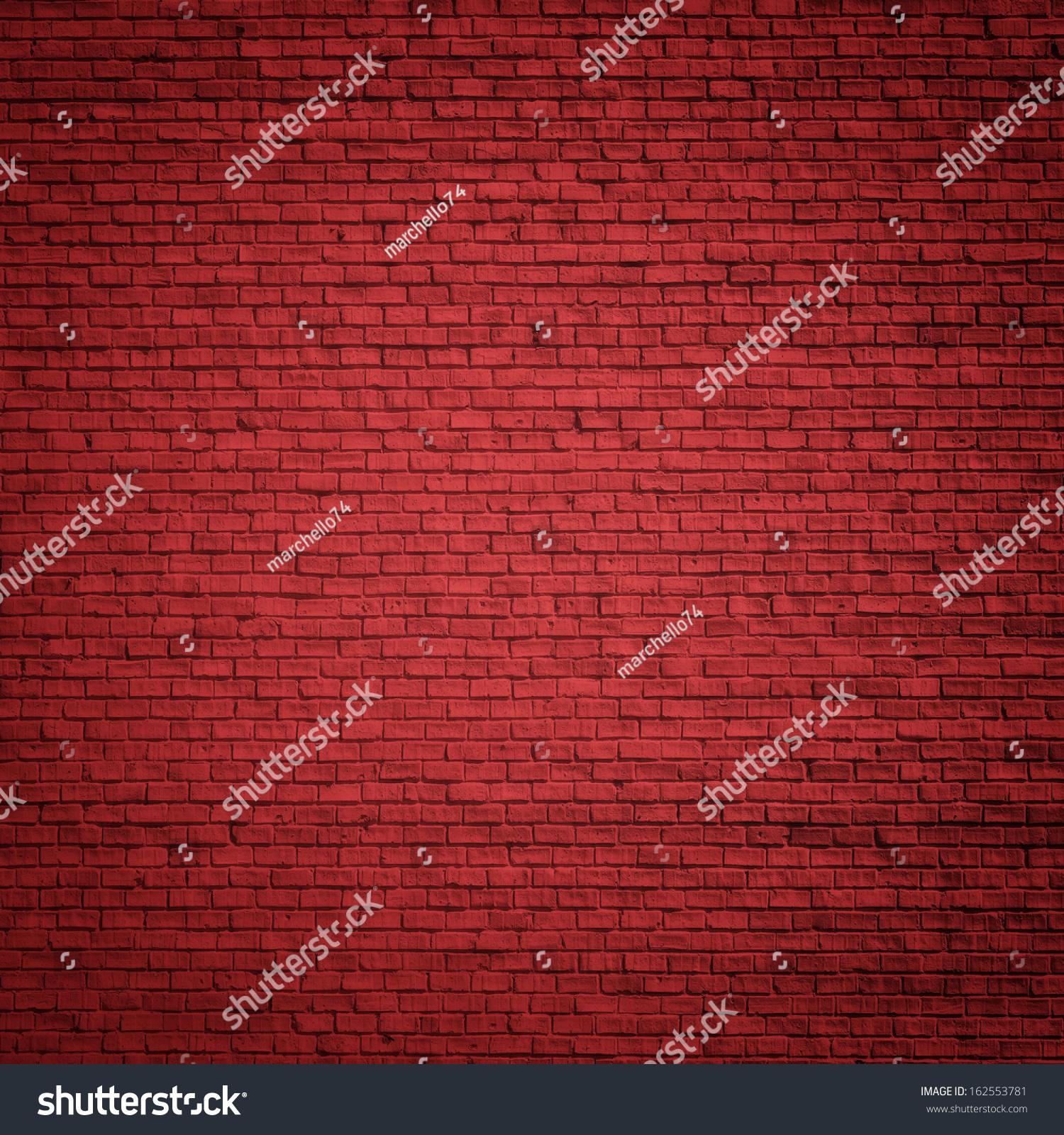 クリスマス背景にレンガの赤い壁 のイラスト素材 162553781