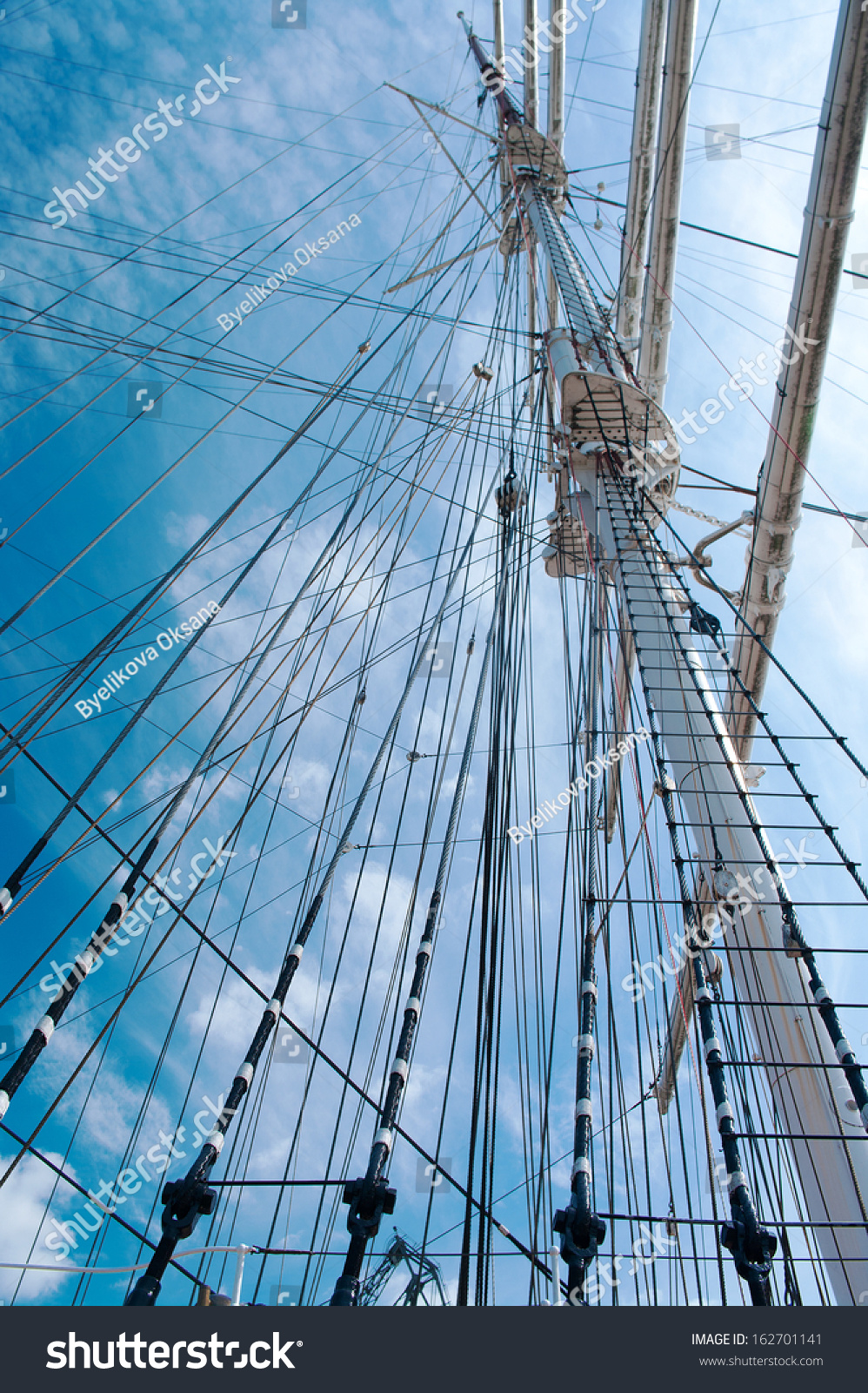 Rope Ladder Main Mast Ship On Stock Photo 162701141 - Shutterstock for Rope Ladder Ship  242xkb