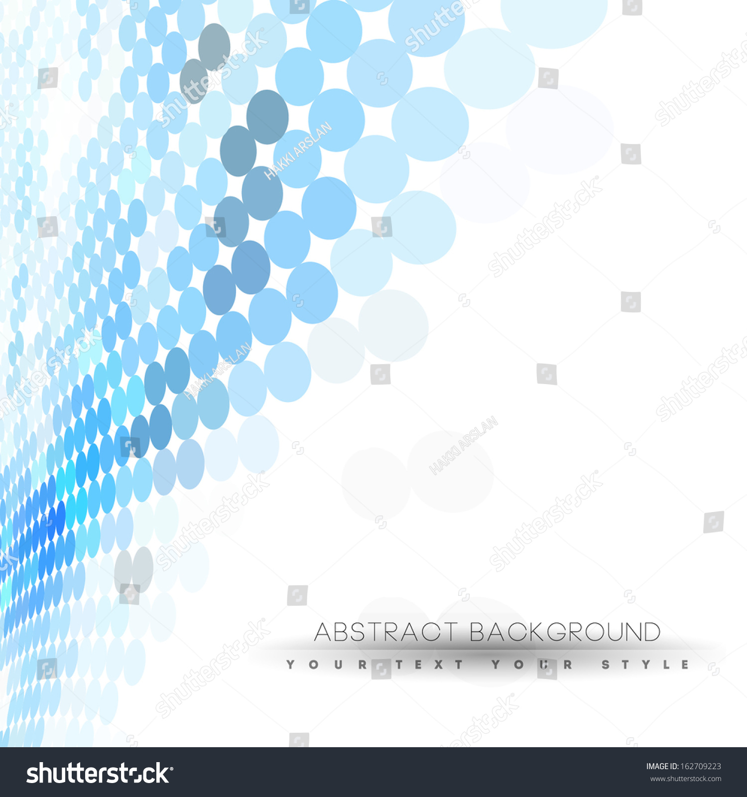 Abstract Business Background Blue Dots Minimal Stock