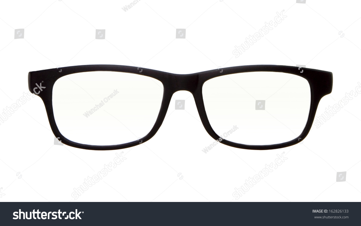 Royalty-free Classic glasses isolated on white for… #162826133 Stock ...