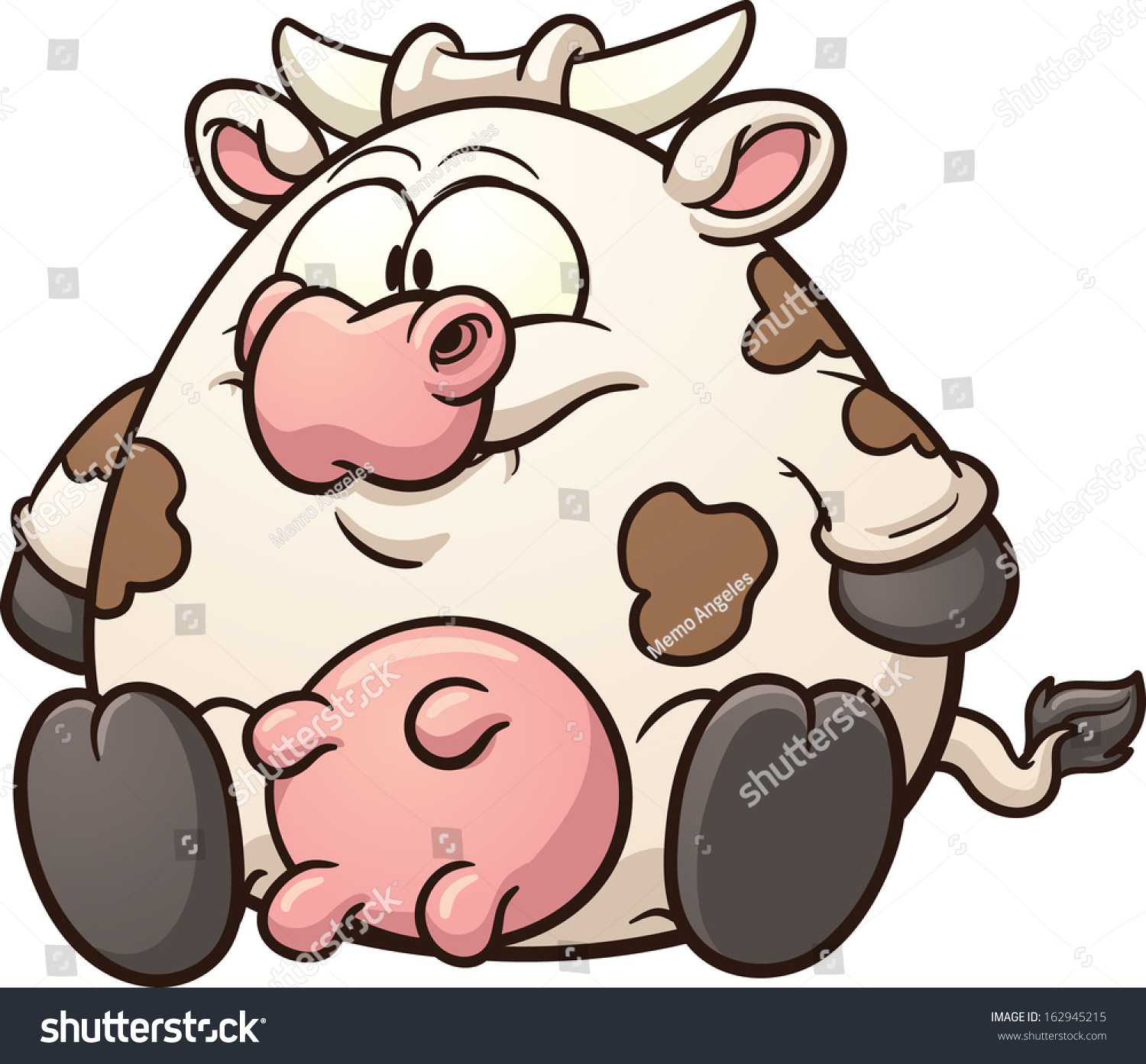 A fat cow with a fat ass 4