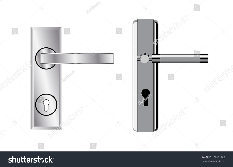 modern door handles. Modern Door Handles Eps8 T