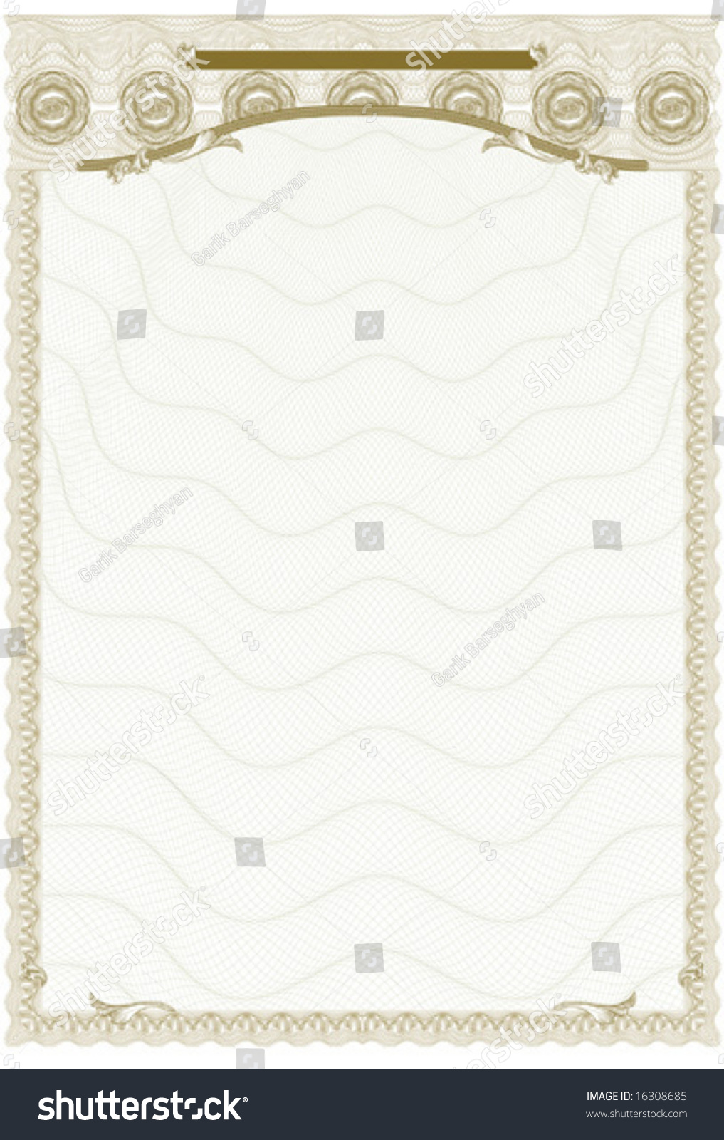 certificate diploma document background complex guilloche stock  certificate diploma document background complex guilloche elements