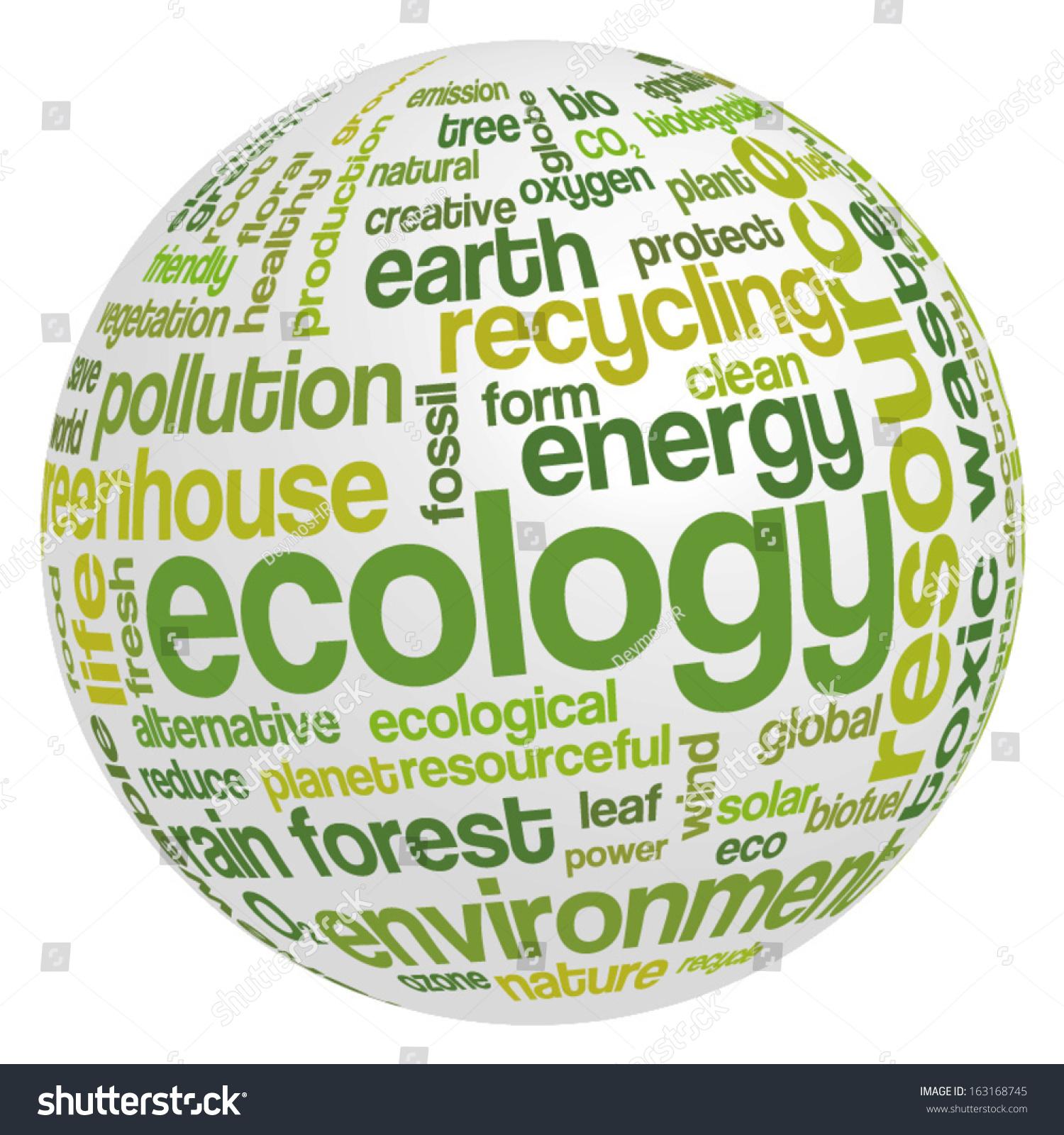 Ecology words cloud — Stock Vector © design36 #88928676