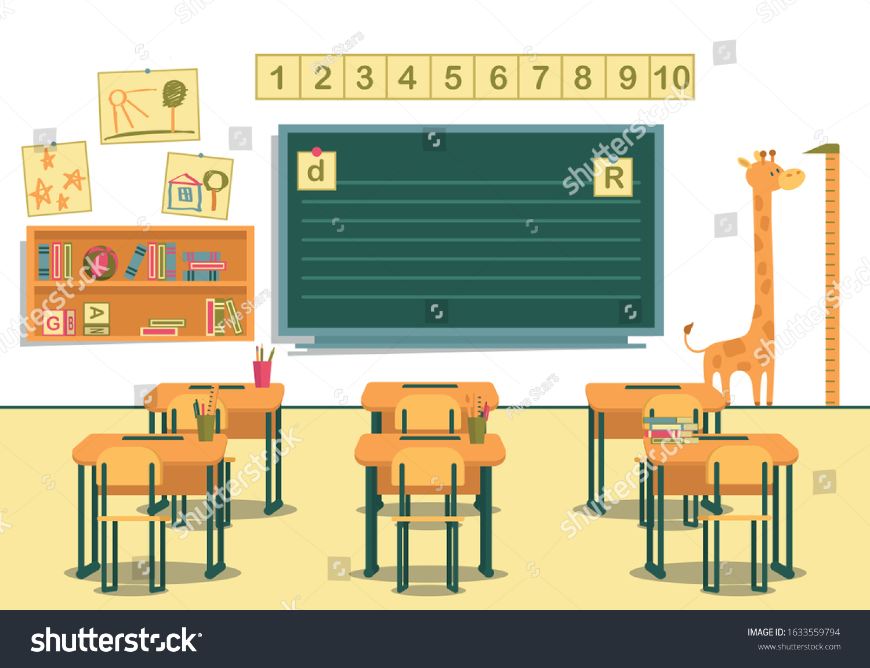 Classroom Primary School View Students Desks Stock Vector Royalty Free 1633559794,Scandinavian Design Desktop Wallpaper