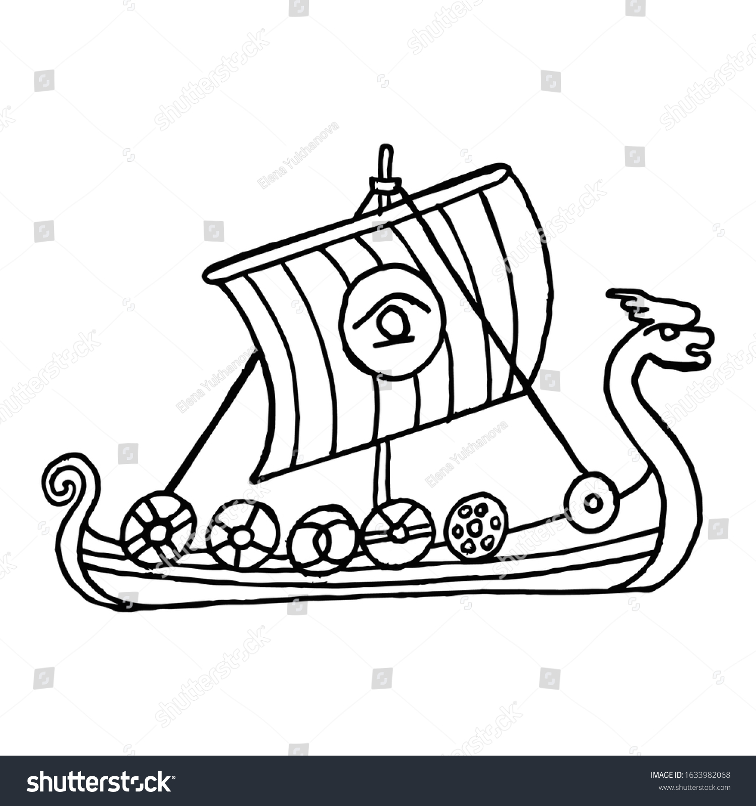 Pirate Ship Coloring Pages - GetColoringPages.com | 1600x1500