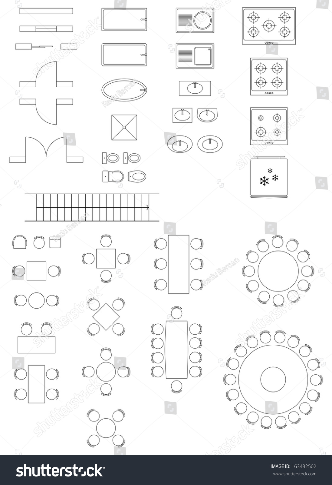 House Plan Symbols Vector,Plan.Home Plans Ideas Picture