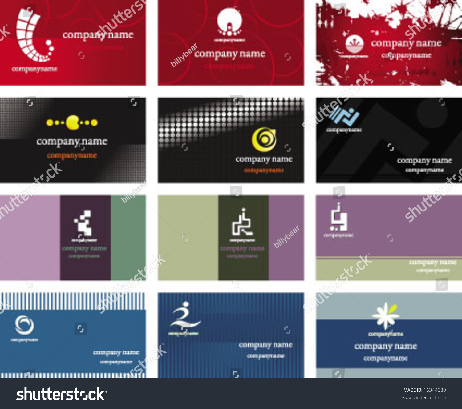 Business card and logo design choice image free business cards business card logo design stock vector 16344580 shutterstock business card and logo design magicingreecefo choice image magicingreecefo Image collections