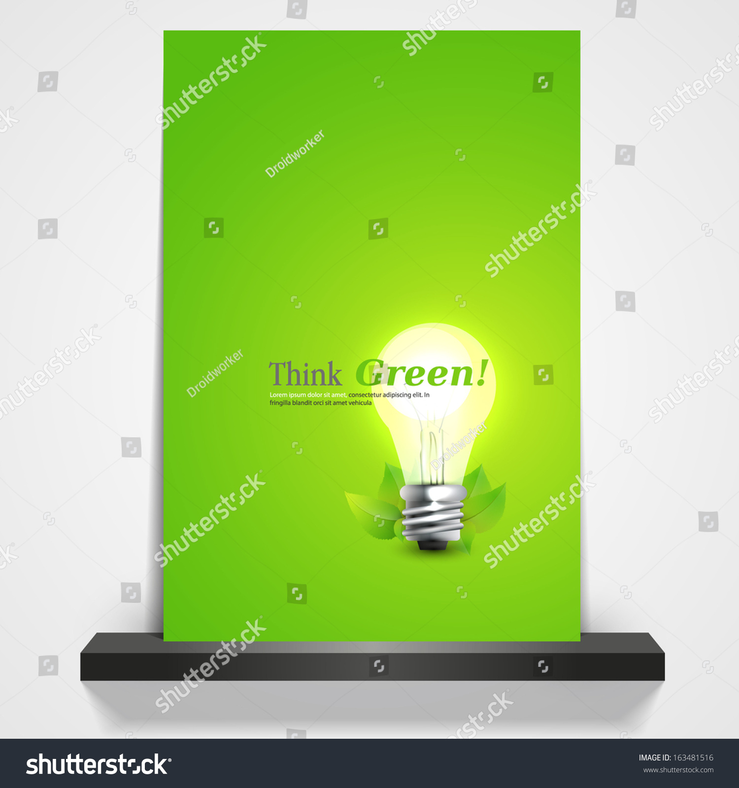 Green Energy Professional Business Flyer Template Or Corporate – Green Flyer Template