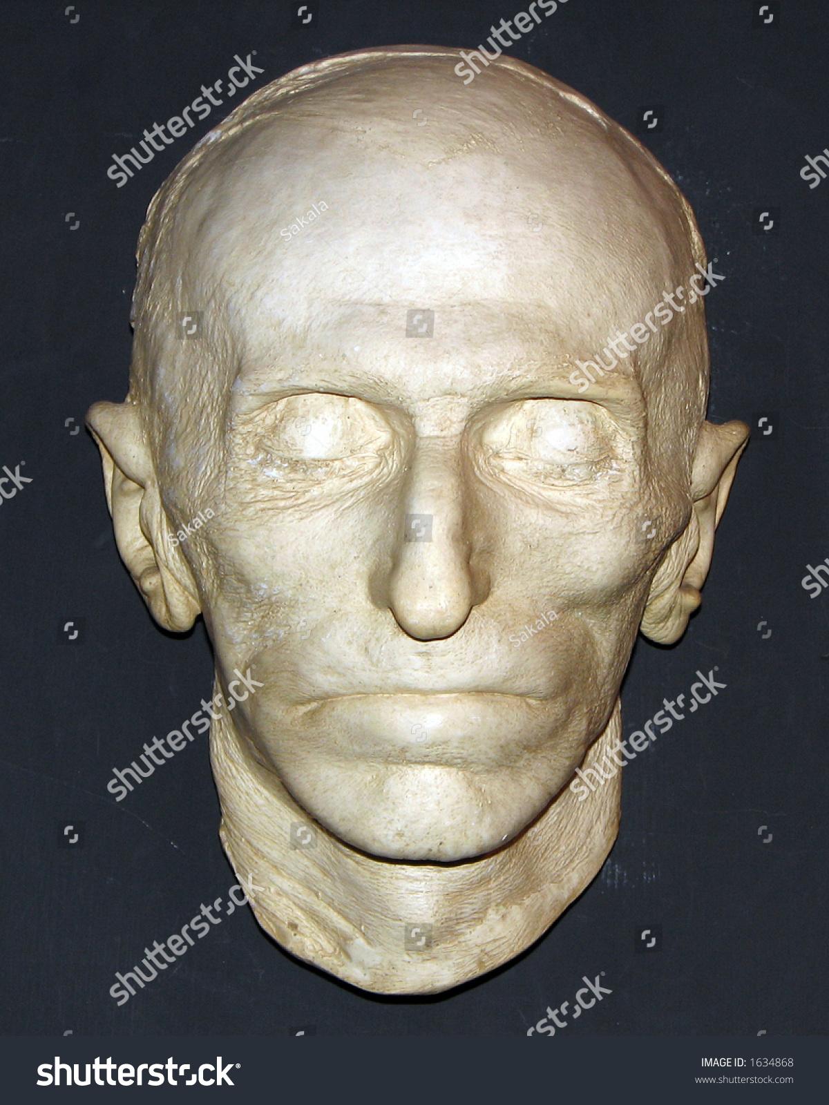Nikola Tesla Death Mask