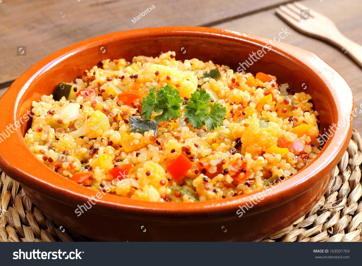 Quinoa With Vegetables Stock Photo 163501769 : Shutterstock