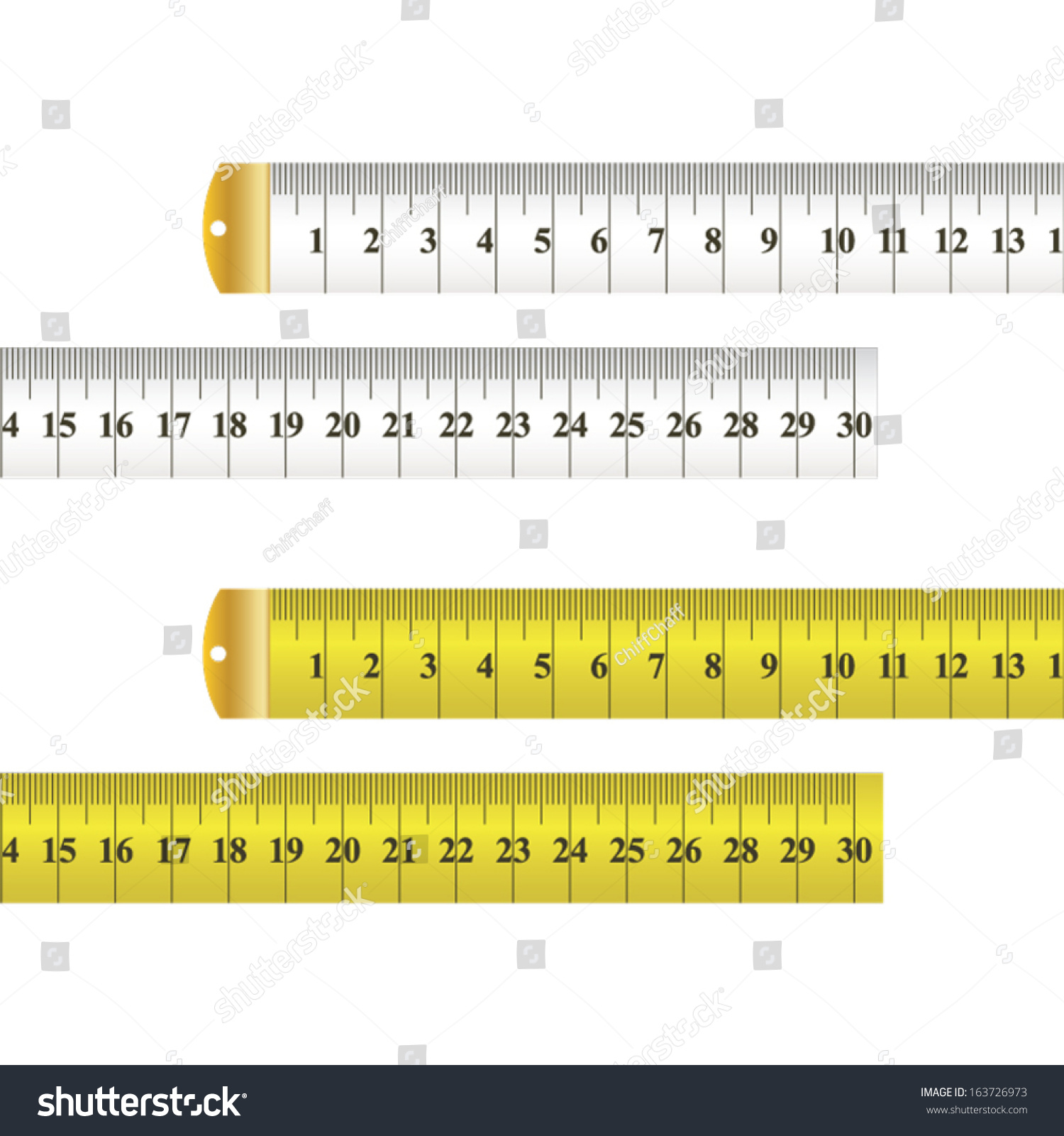 tape measure vector. tape measure vector, yellow and white, centimeters millimeters vector