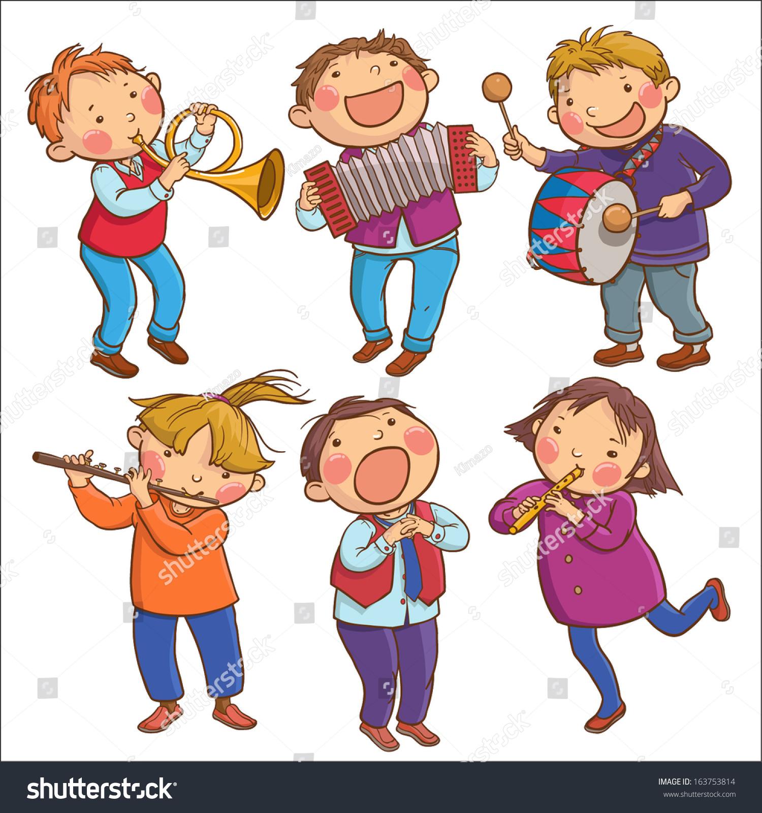 Illustration Six Child...