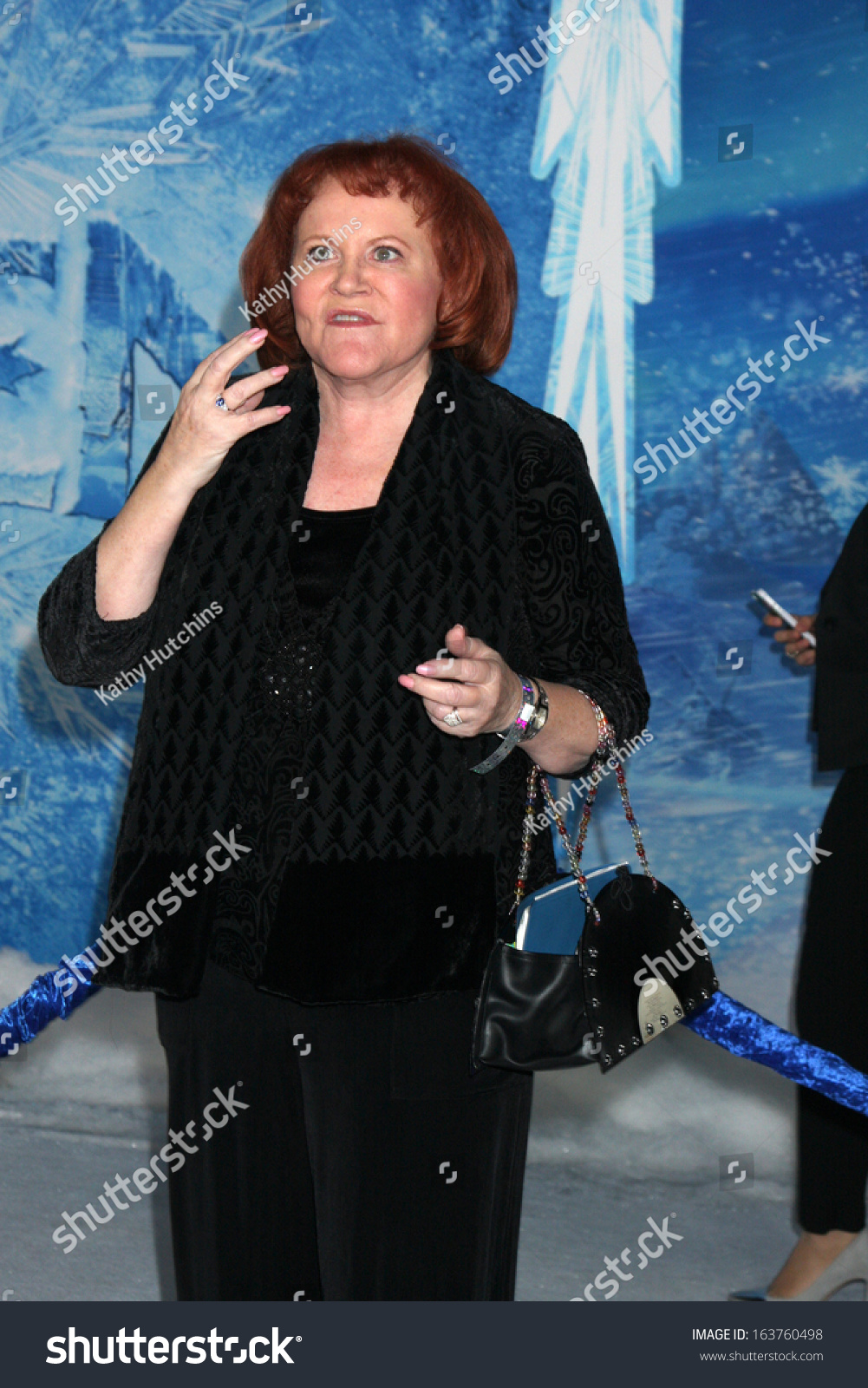 "Los Angeles - Nov 19: Edie Mcclurg At The ""Frozen"" World ..."