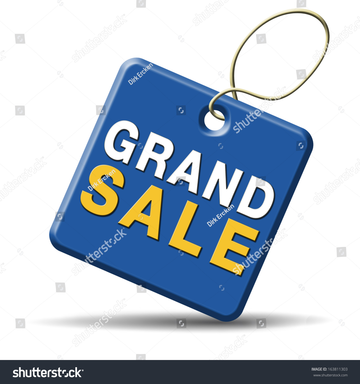 grand sale sales reduced prices off stock illustration 163811303