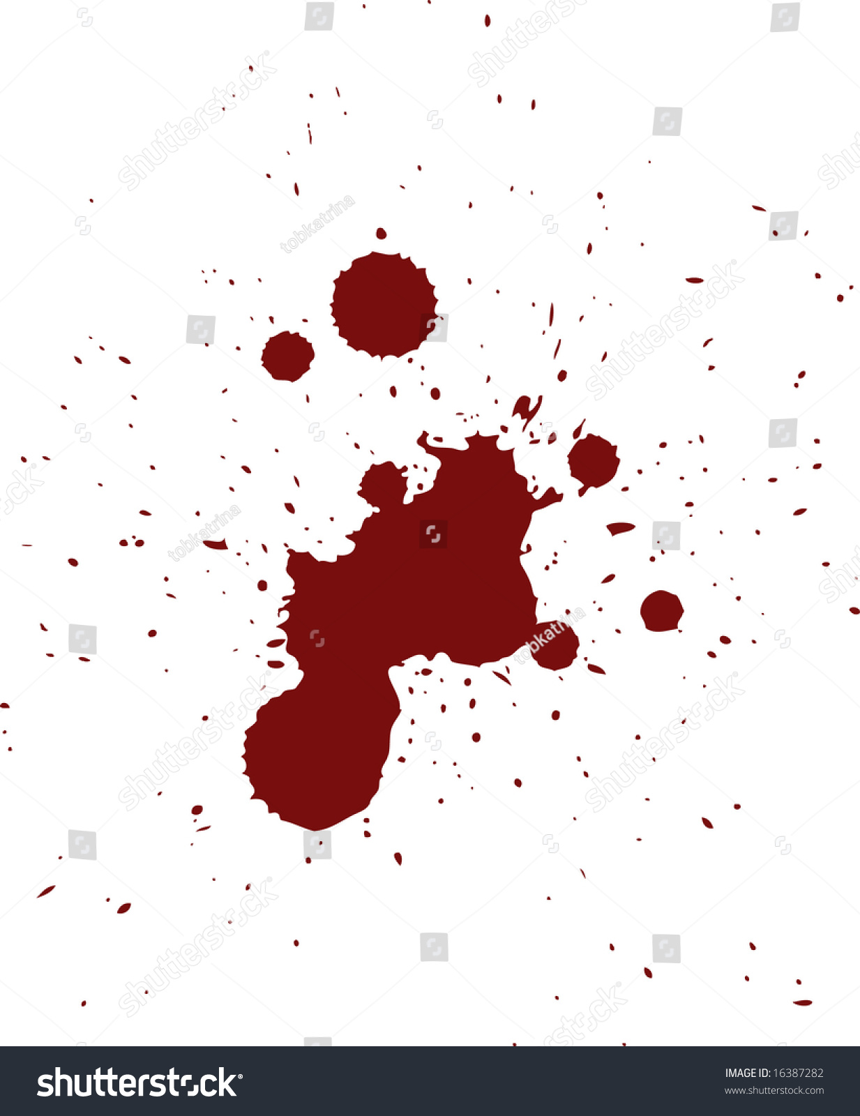 Blood Spatter Patterns Best Decorating Ideas