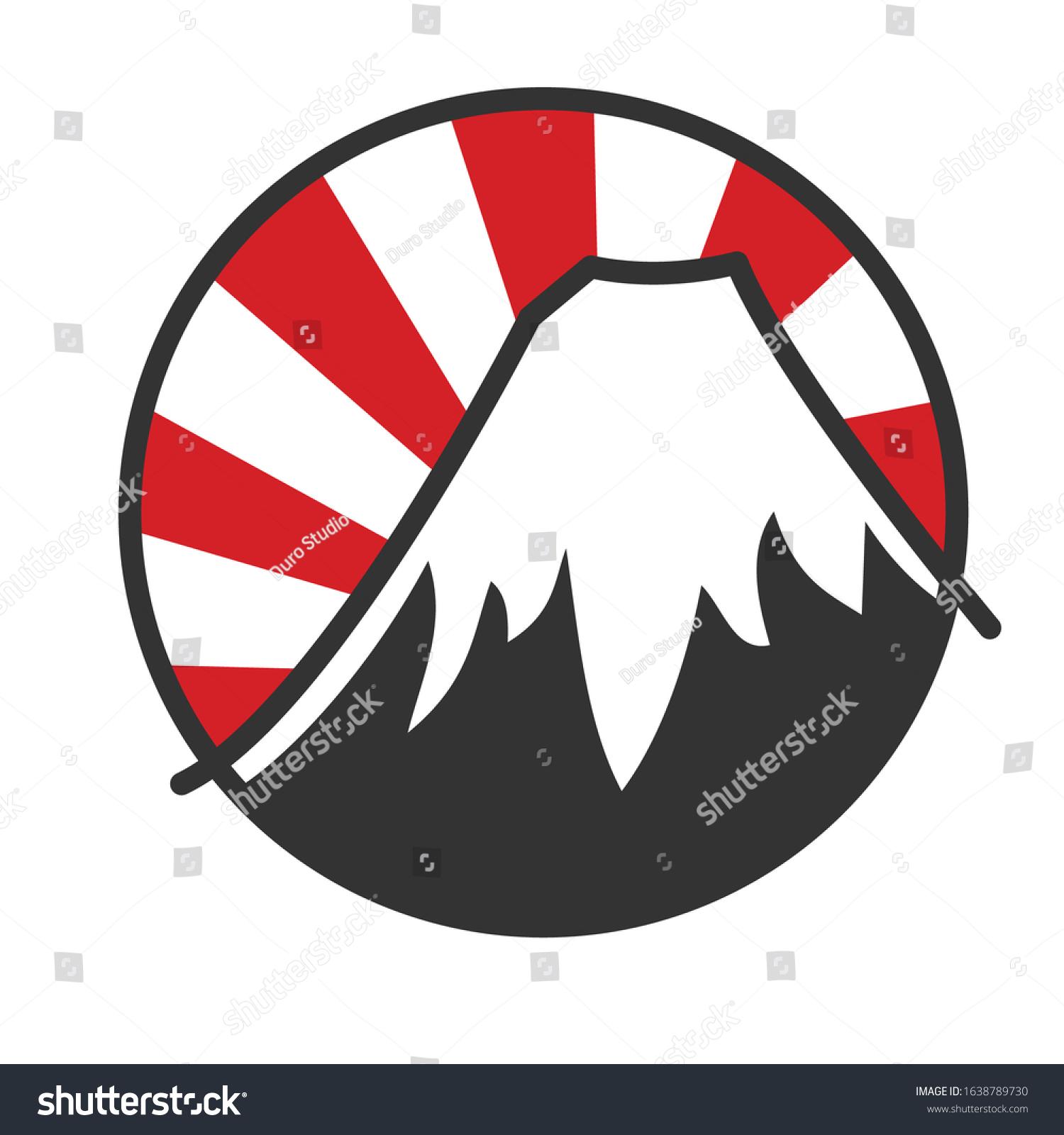 Japanese Logo Symbol Sticker Street Racing Stock Vector Royalty Free 1638789730