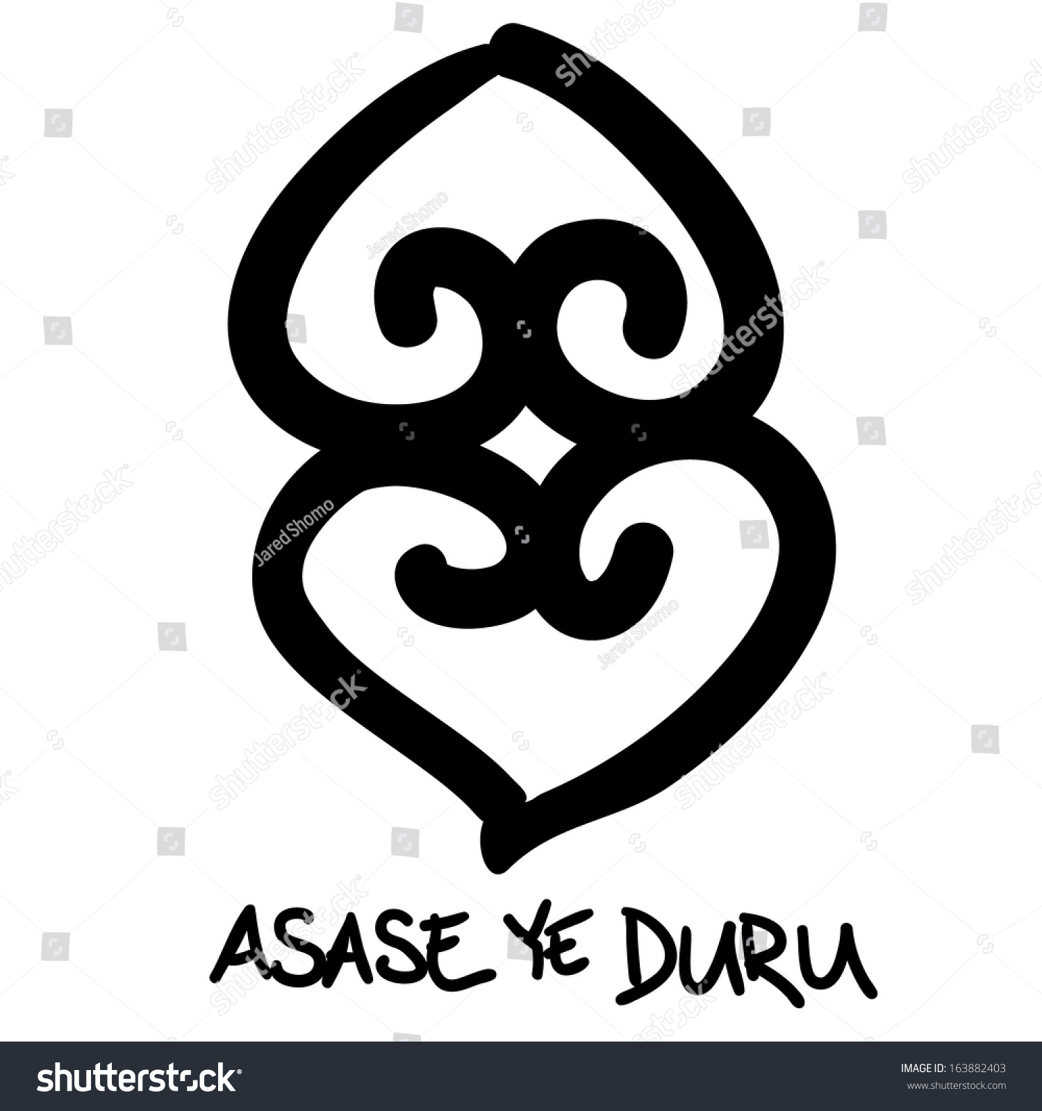 Asase ye duru adinkra symbol earth stock vector 163882403 asase ye duru adinkra symbol the earth has weight buycottarizona
