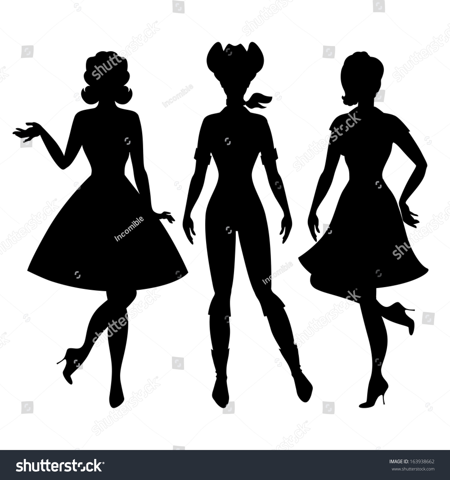 50s Pin-up Girl Stock Images, Royalty-Free Images ...