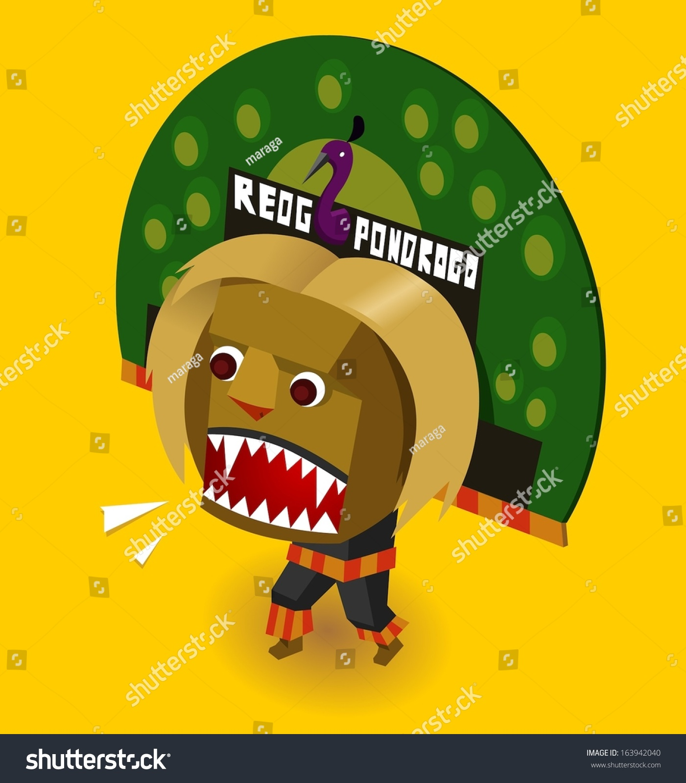 Royalty free indonesian reog ponorogo vector 163942040 stock indonesian reog ponorogo vector illustration 163942040 thecheapjerseys Gallery
