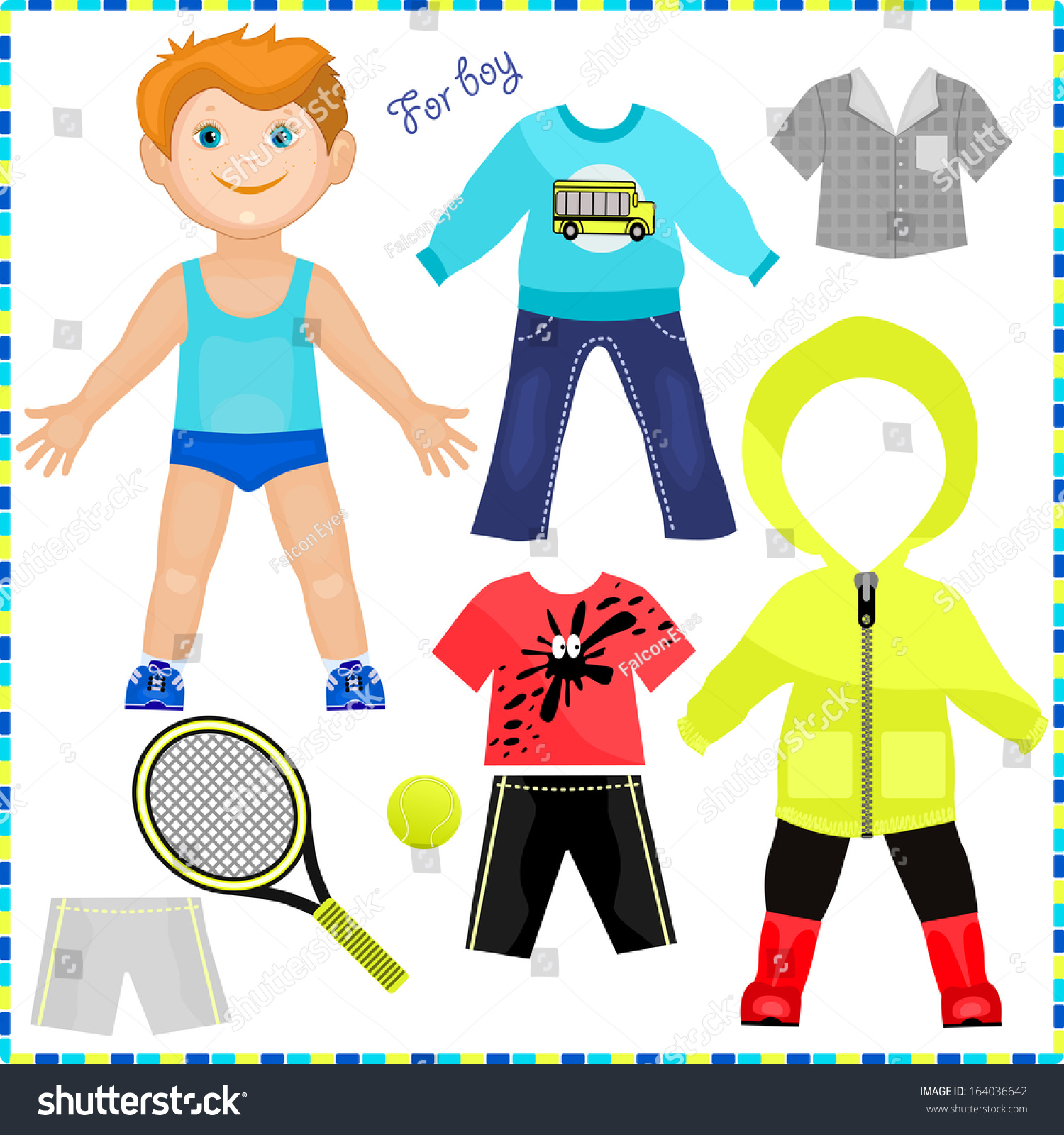 Paperdoll Template For Tennis Shoes