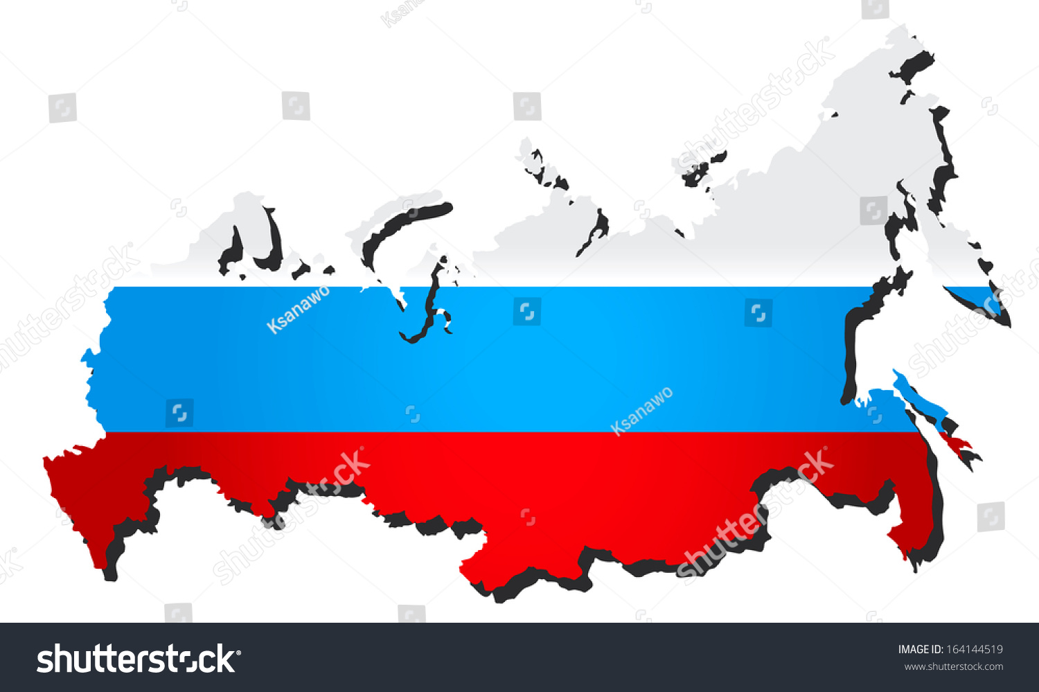 Map Flags Of The Russian