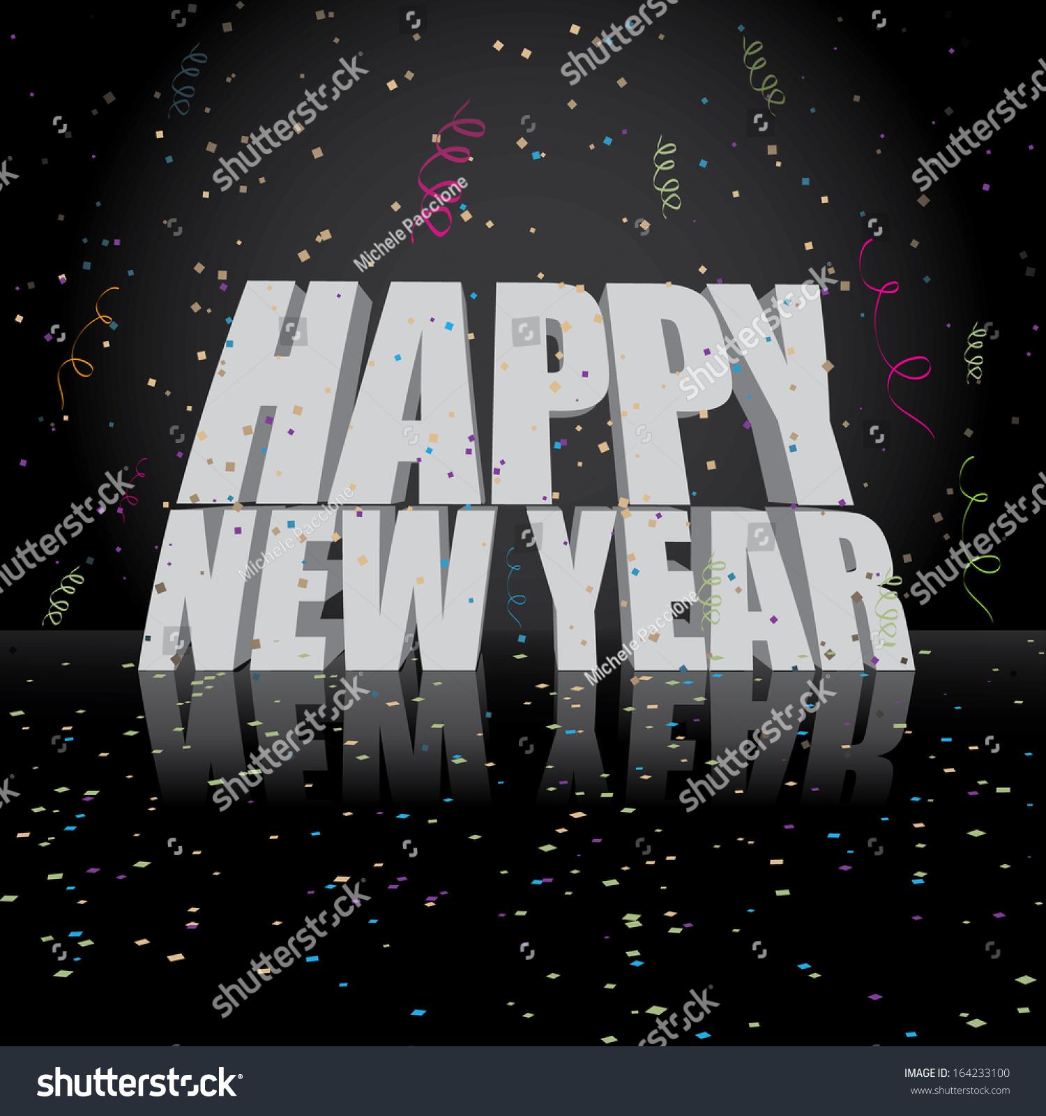 Editable happy new year greeting card stock illustration 164233100 editable happy new year greeting card design jpg m4hsunfo