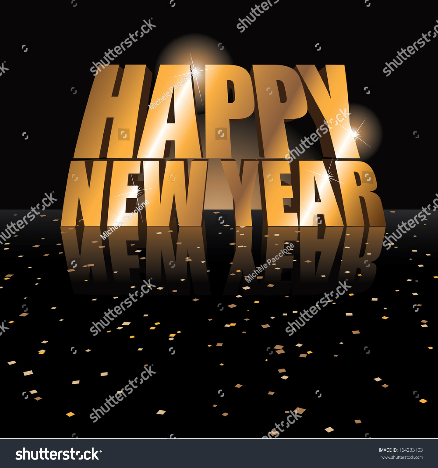Editable happy new year greeting card stock vector royalty free editable happy new year greeting card design eps 10 vector grouped for easy editing m4hsunfo