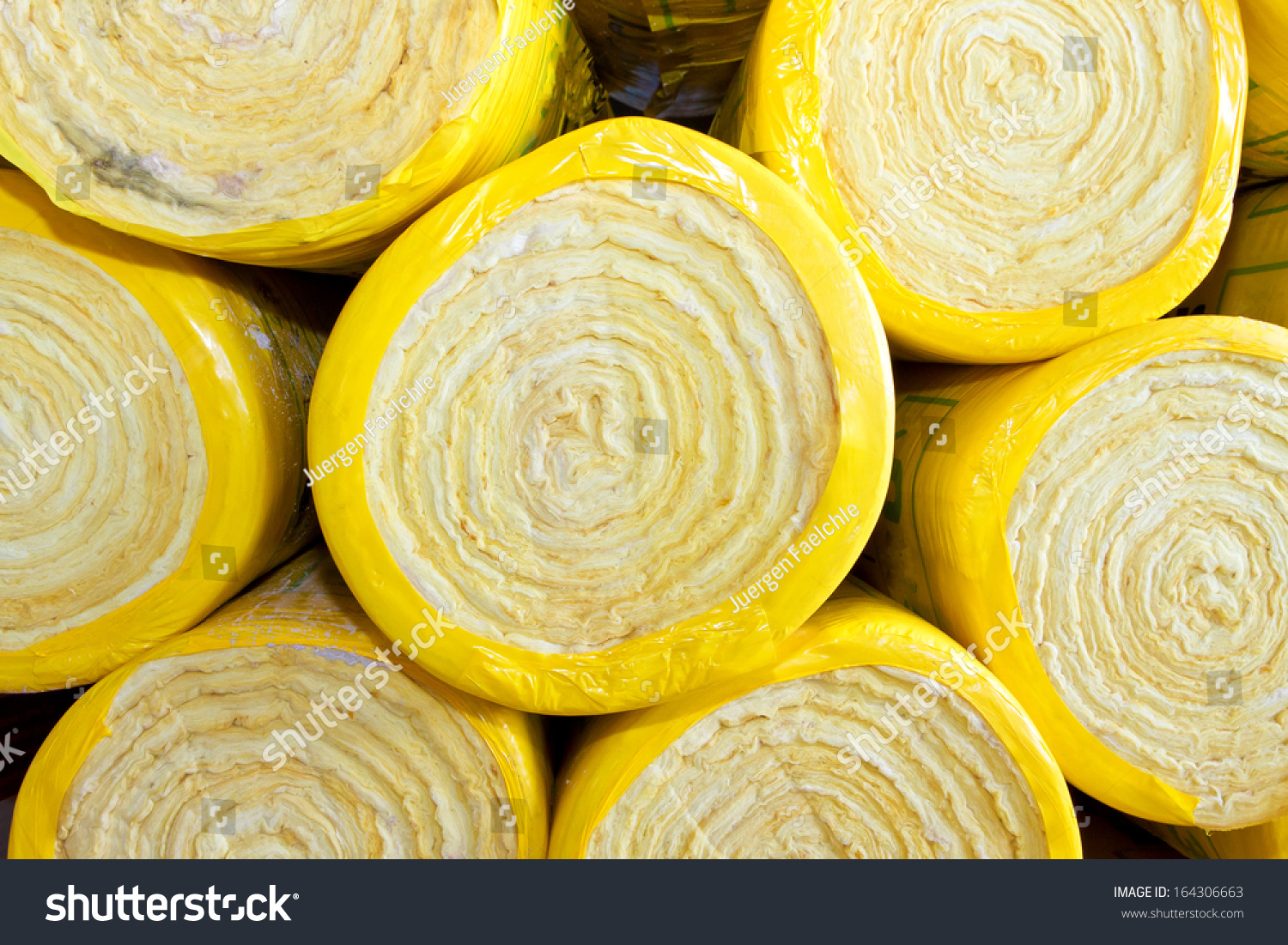 Rock wool insulation stock photo 164306663 shutterstock for Rocks all insulation