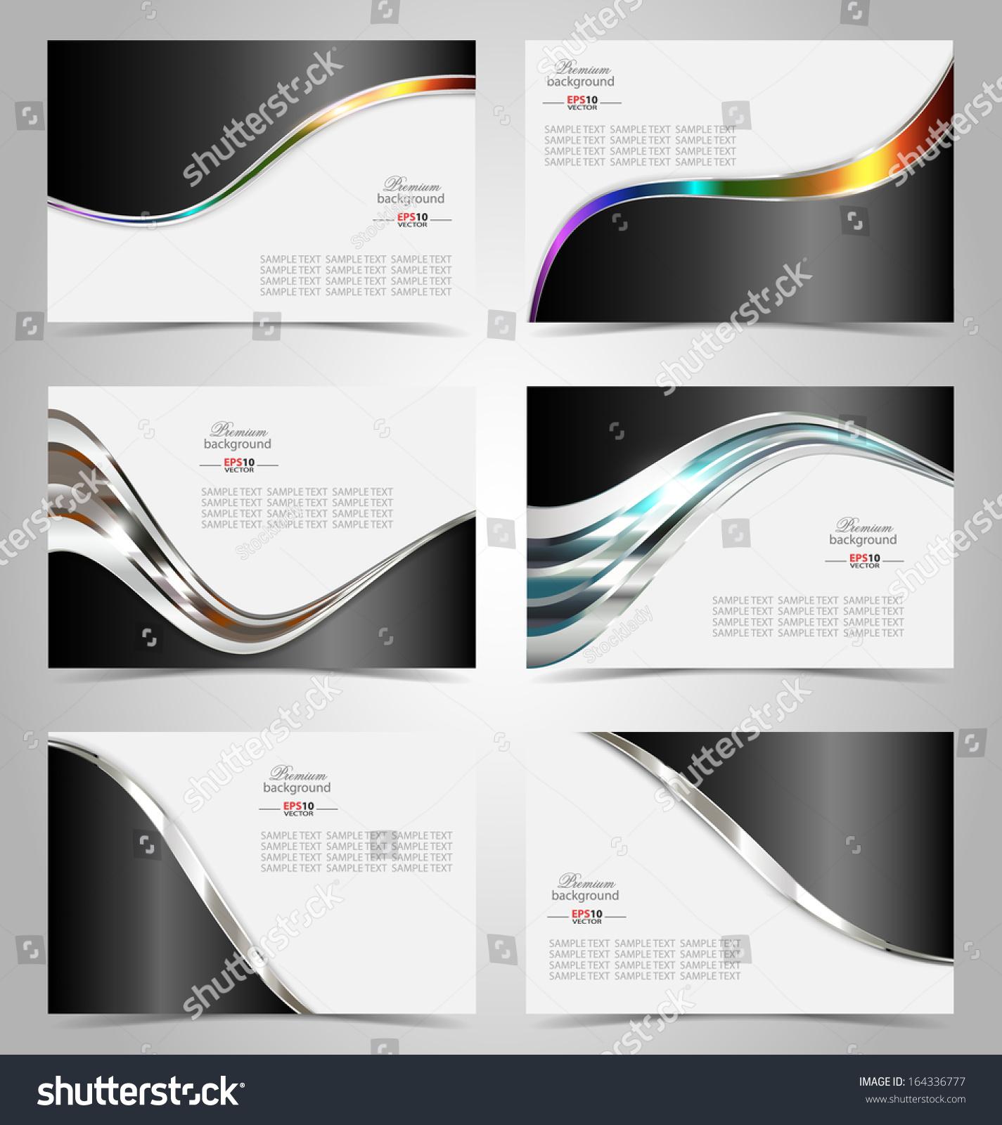 Elegant Business Card Design Template Creative Stock Vector ...
