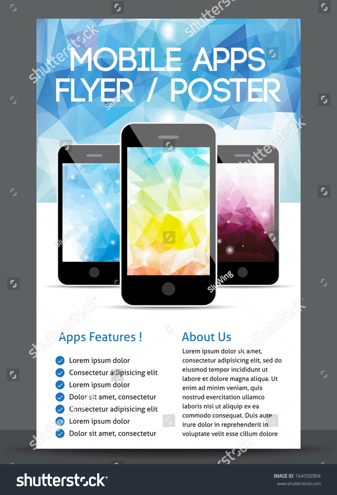 Poster design app - Mobile App Flyer And Poster Design