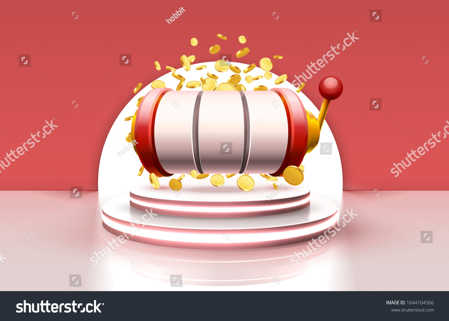 King Slots 777 Banner Casino On Stock Vector Royalty Free 1644104566