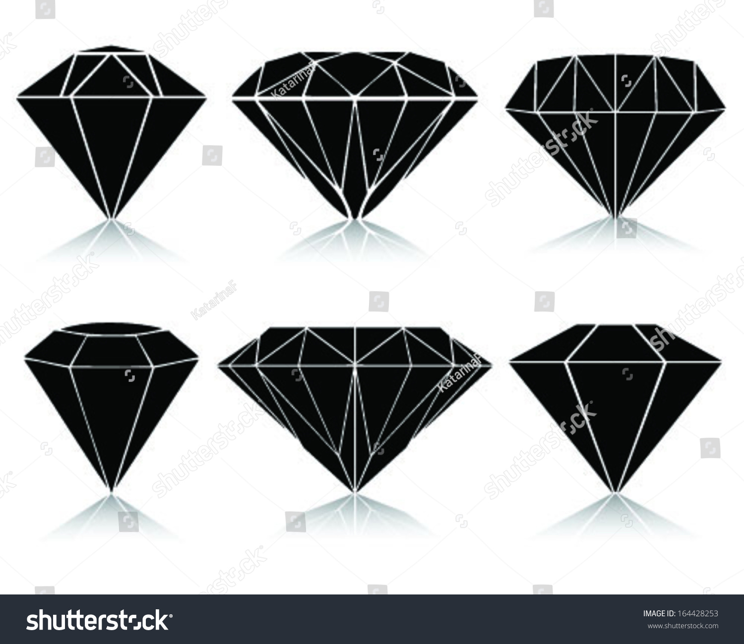 Diamond vector ai