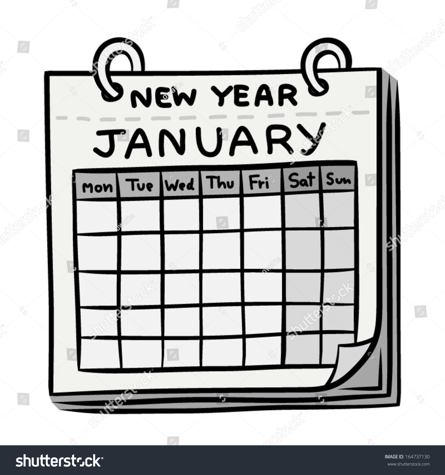 Image result for cartoon calendar