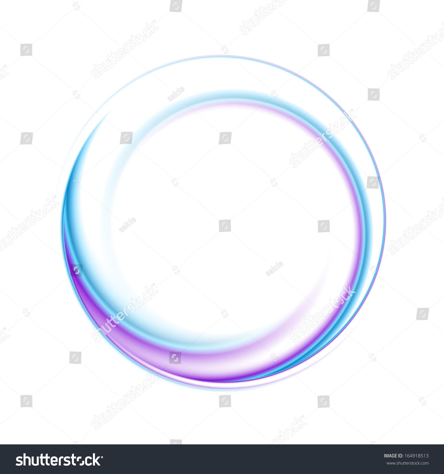 Abstract Circle Bright Background Vector Logo Stock Vector ...