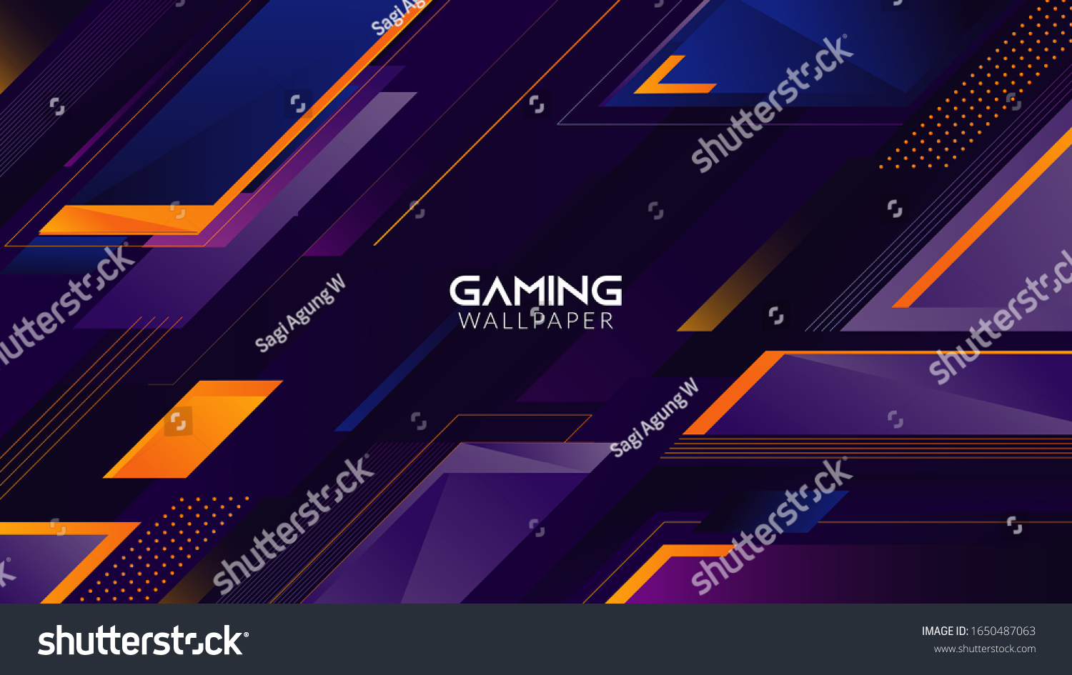 stock vector geometric abstract gaming wallpaper background k 1650487063
