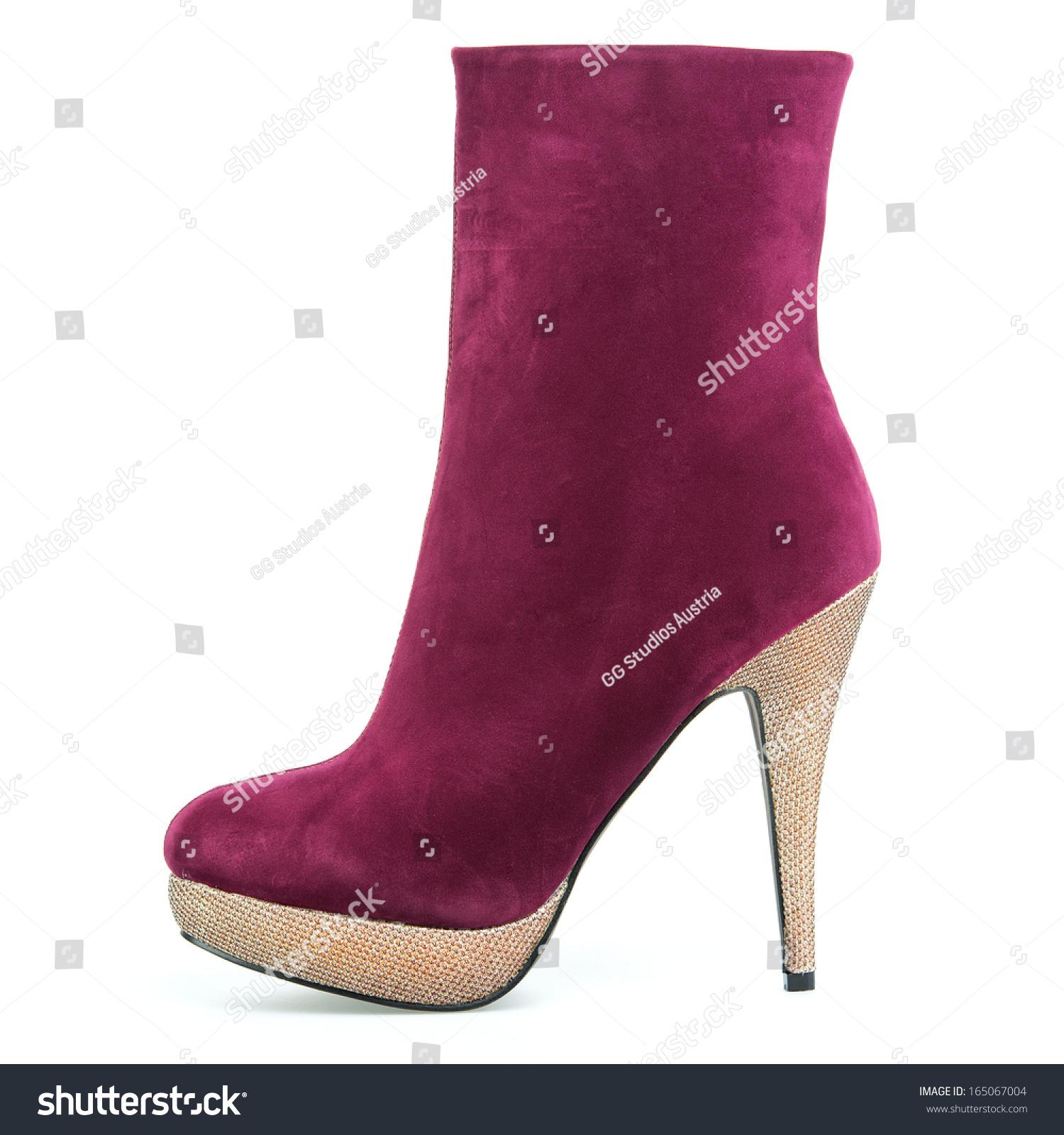 Deep Red High Heels