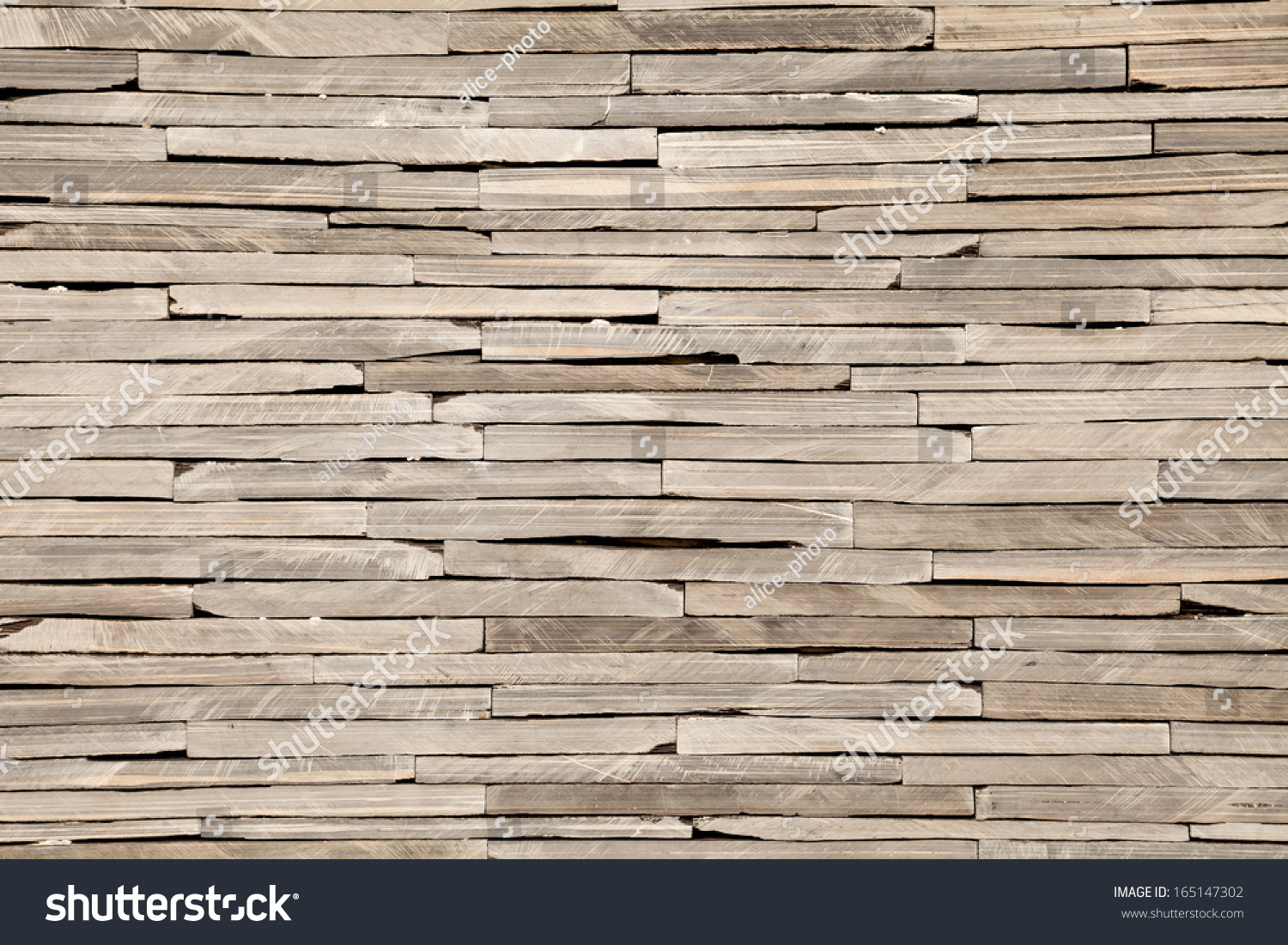 Close Brickwall Modern Stone Texture Background Stock