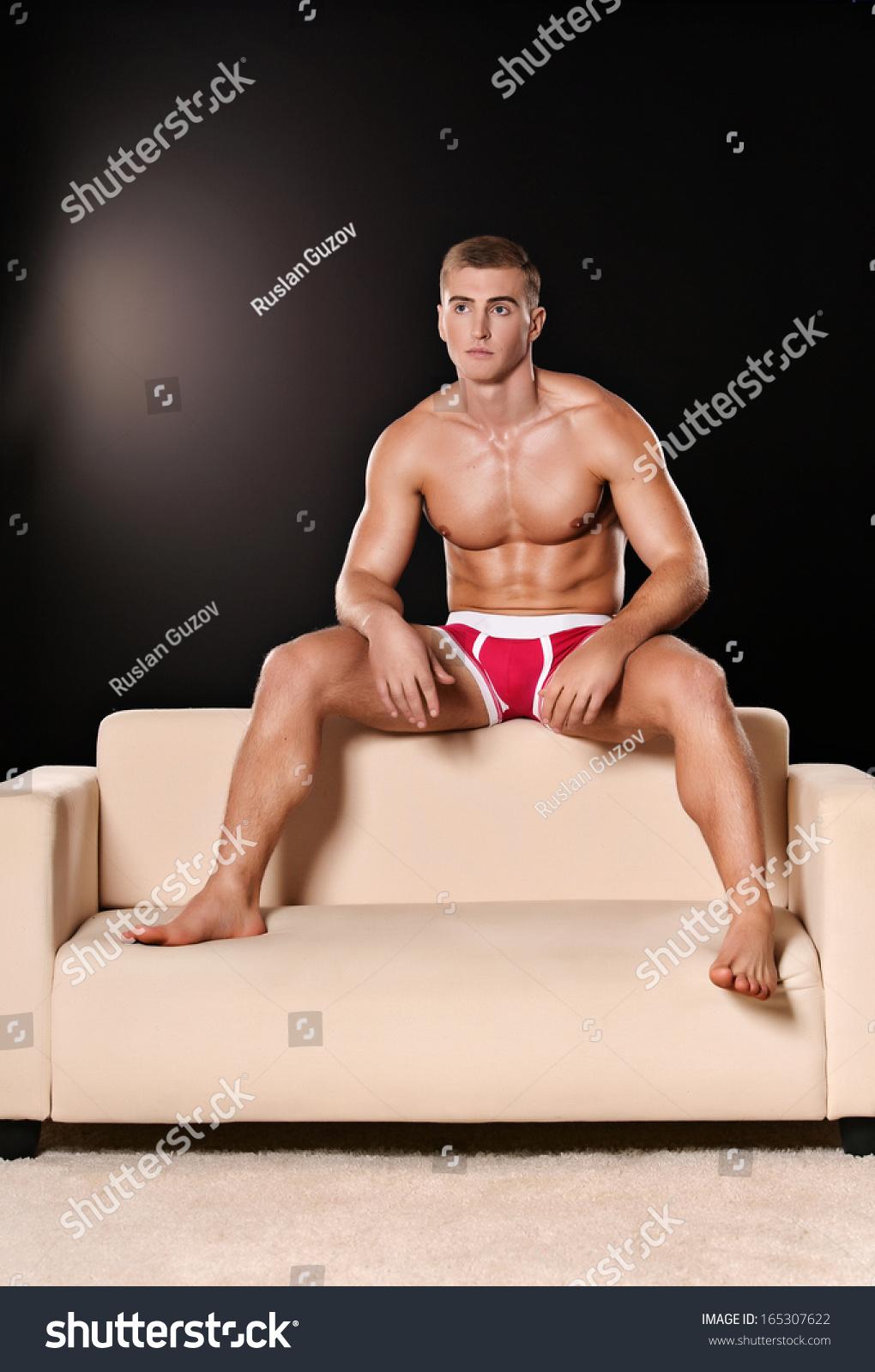 naked gangbang muscle men