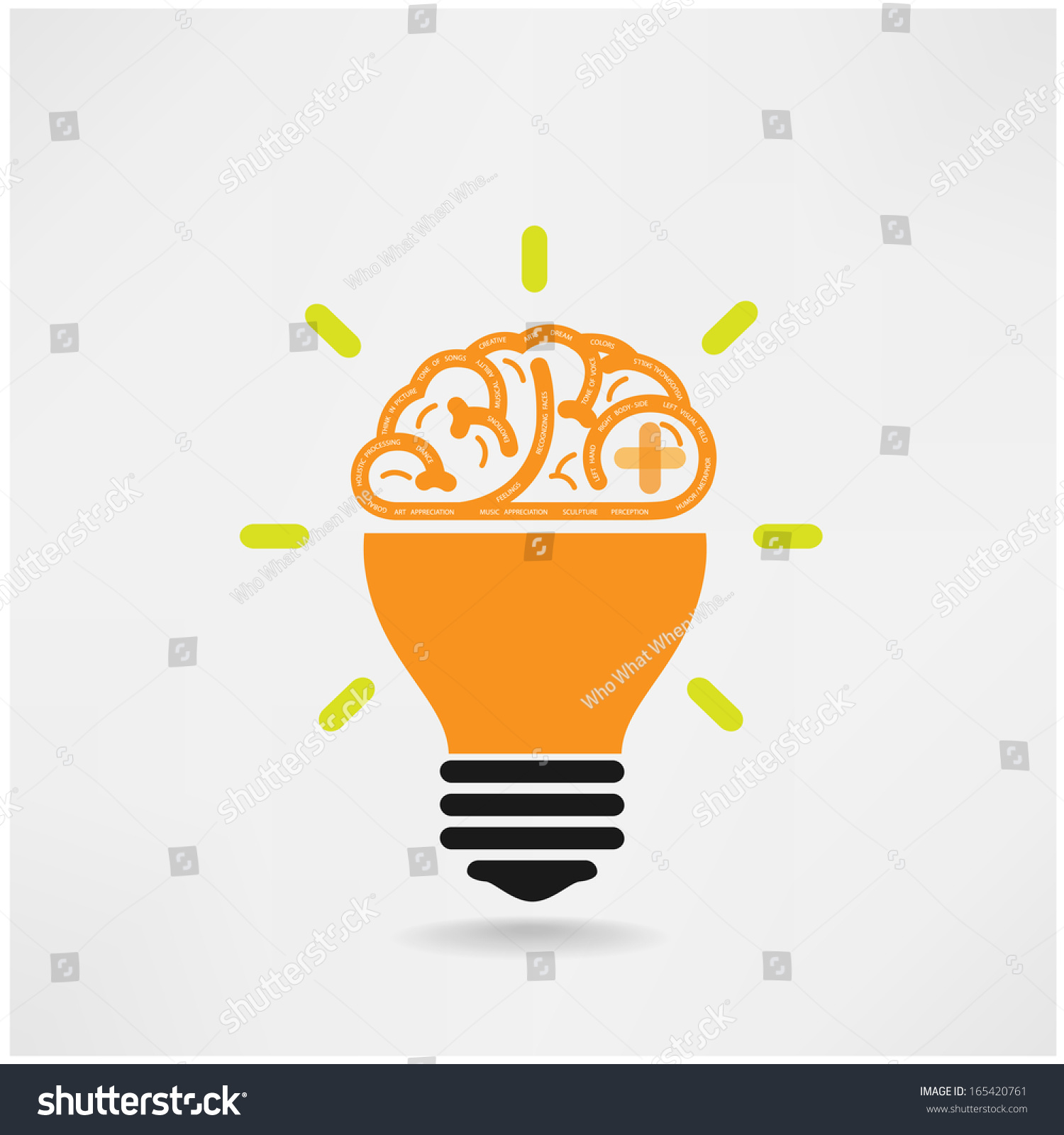 Idea Design flat design colorful vector illustration concept for creativity big idea creative work starting new project Save To A Lightbox