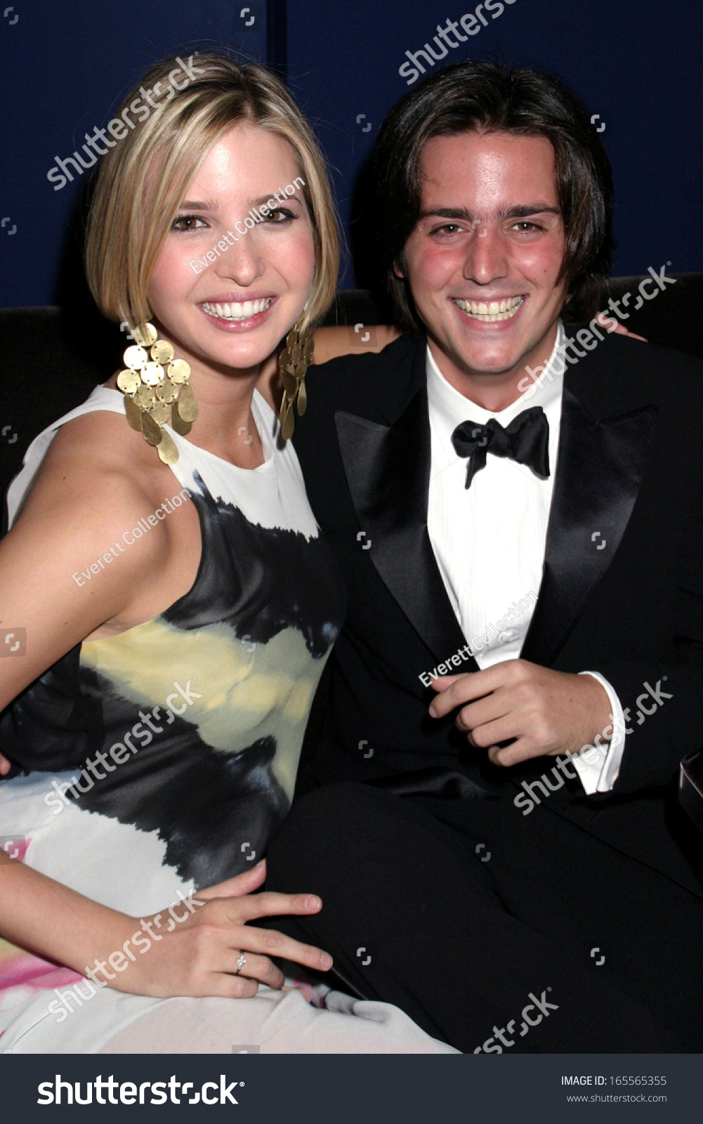 Ivanka Trump, James Bingo Gubelmann at the after-party for New York ...