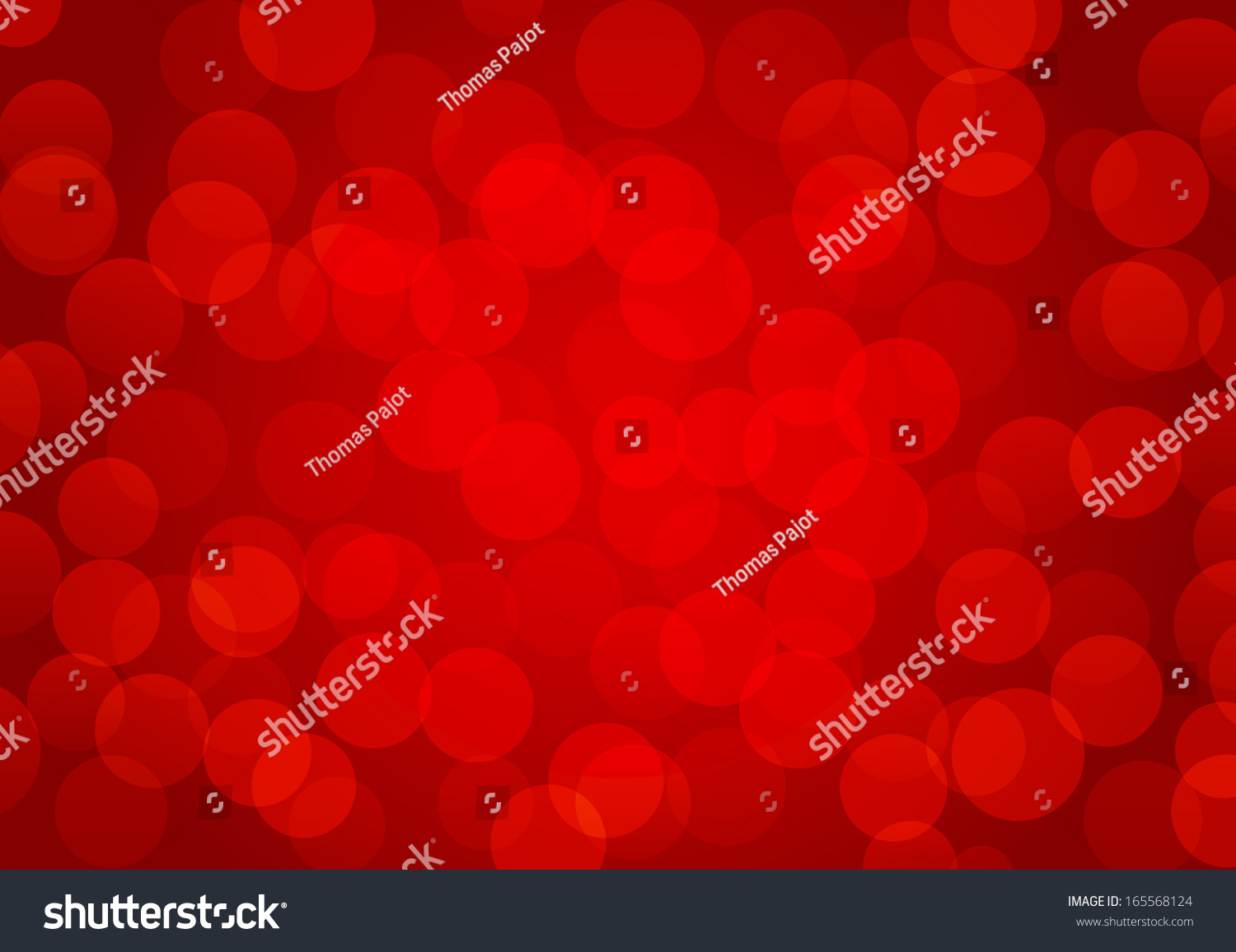 background red blurred lights stock vector 165568124