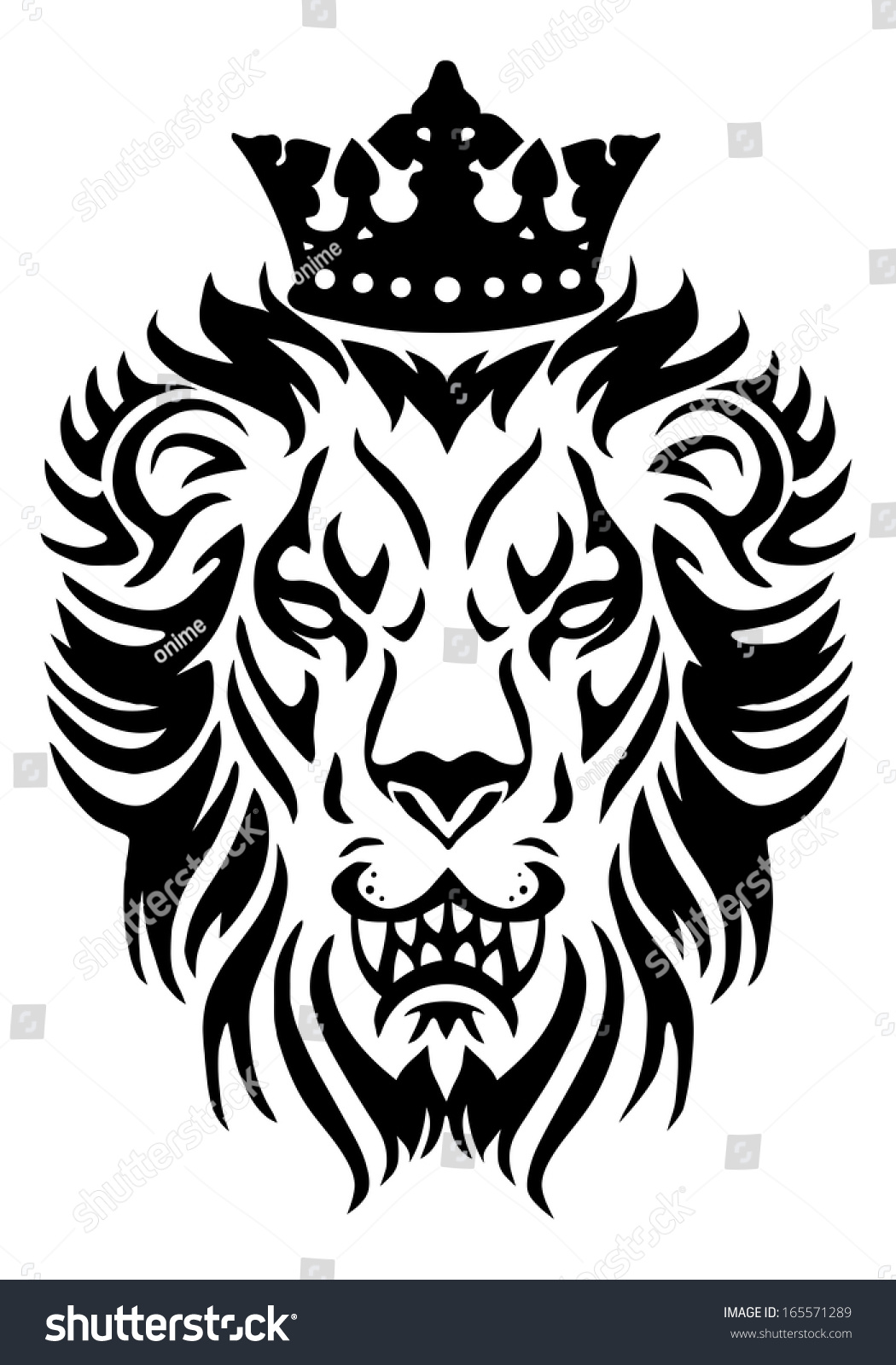 Illustration lion king wear crown isolated stock illustration illustration of a lion king wear crown in isolated white background biocorpaavc Gallery