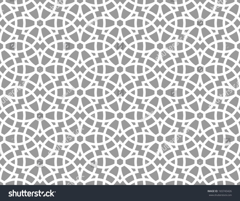 Royalty-free Ornamental pattern. Arabic seamless… #165743426 Stock ...
