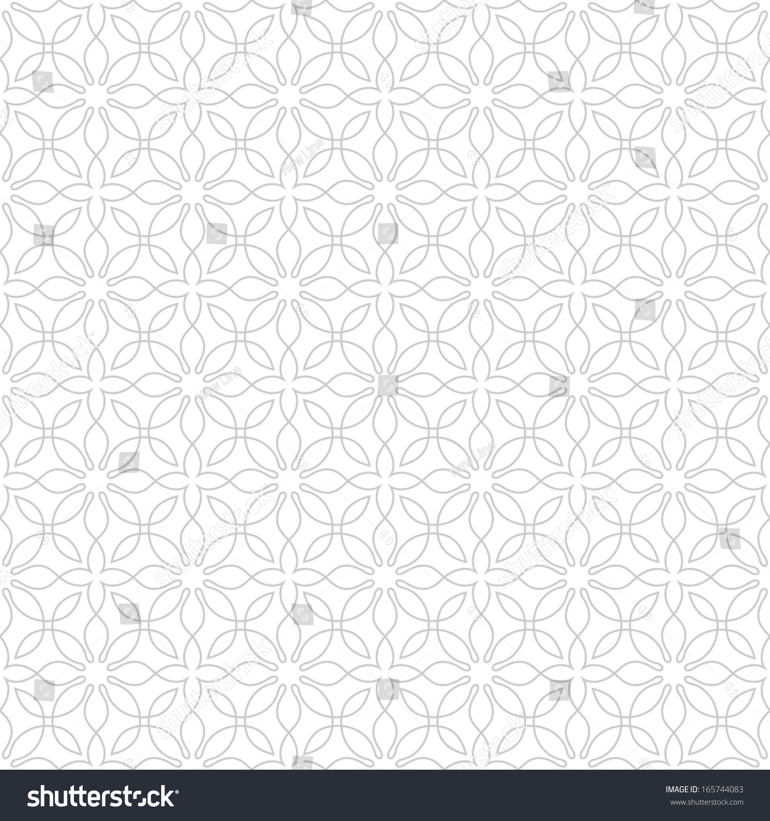 Ornamental Pattern Arabic Seamless Pattern Moroccan Stock Vector ... for Modern Arabic Pattern Vector  565ane