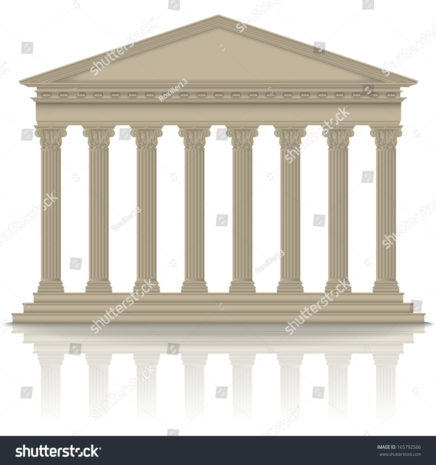 a look at the greek and roman temples for the gods Essay greek and roman architecture the greeks thought of their gods as  temples were built as the gods' earthly  dwellings tend to look inwards towards.